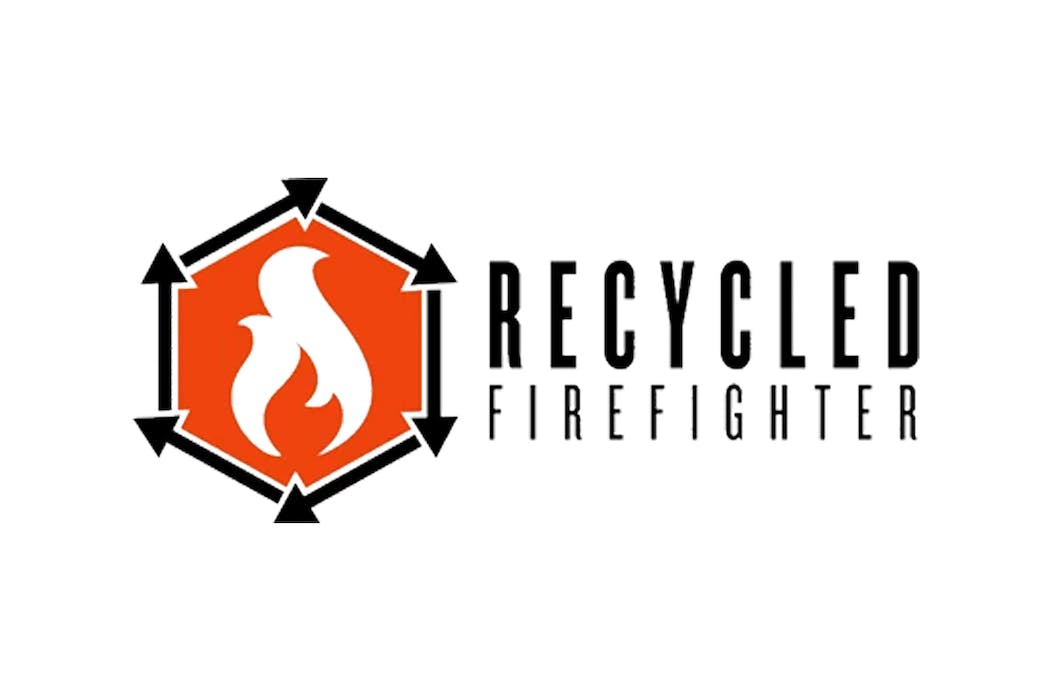 Recycled Firefighter Hero