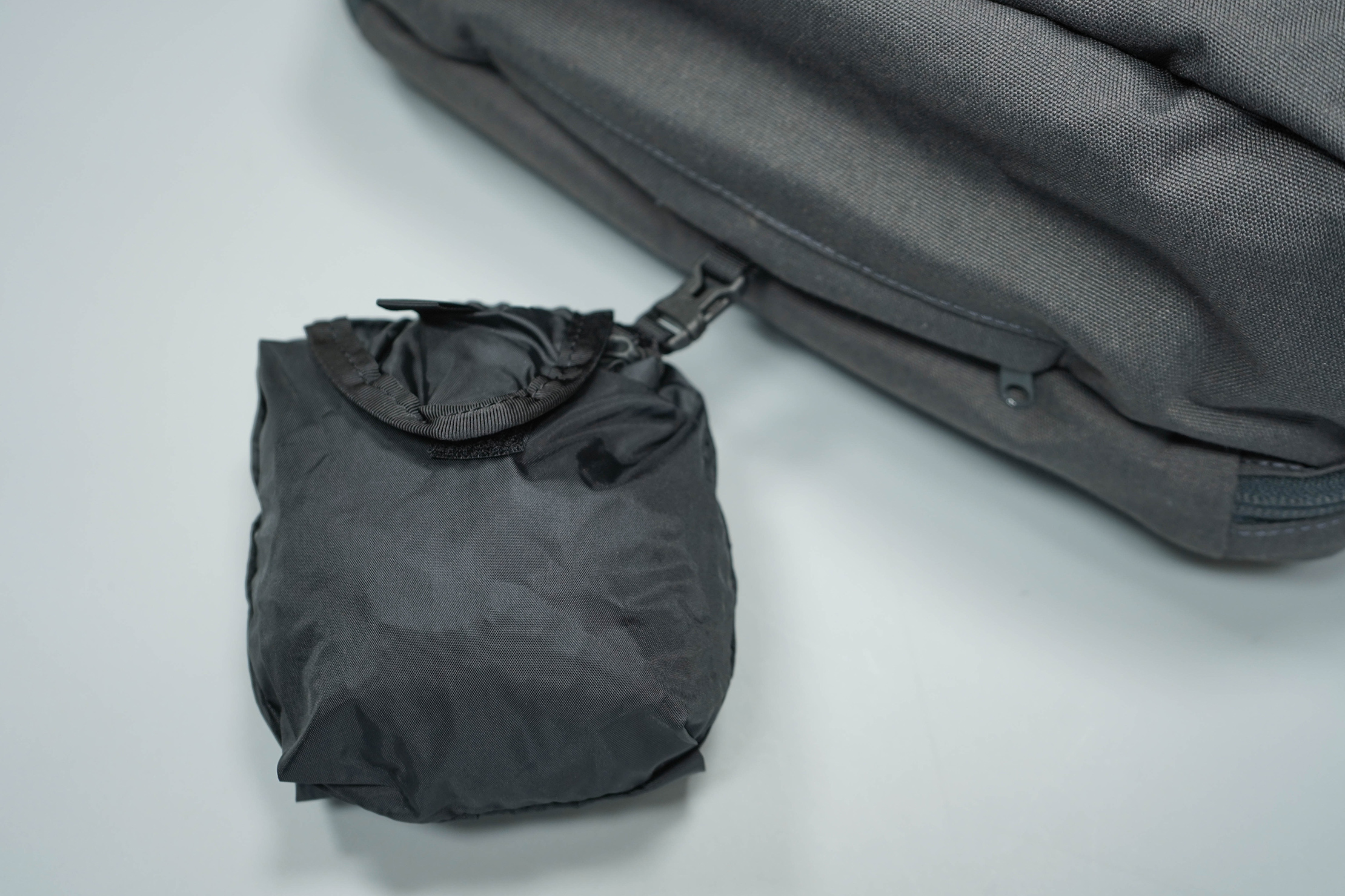 Minaal Daily Bag Rain Cover Packed