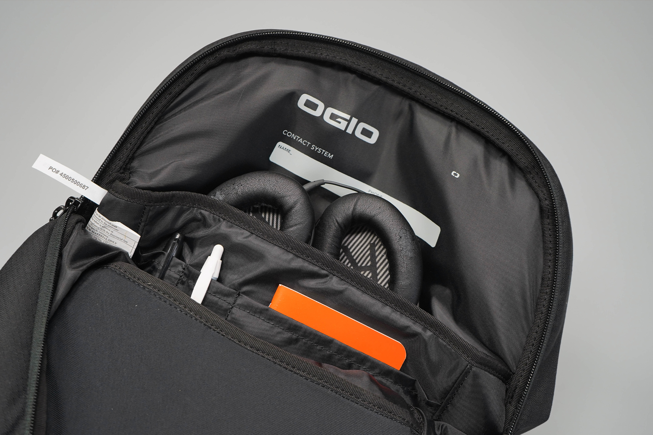 Ogio Shadow Flux 420 Backpack Main Compartment Organization