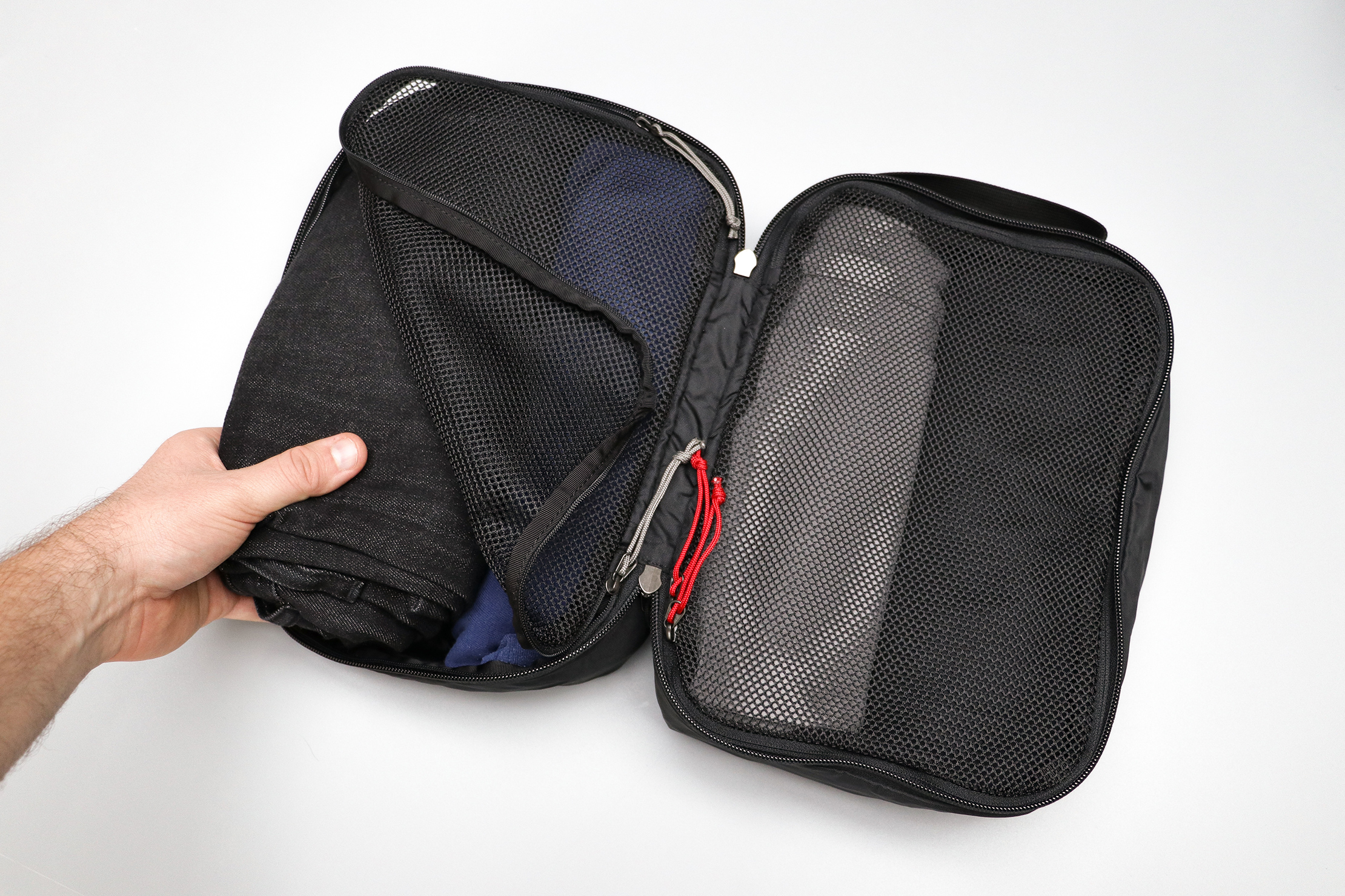 GORUCK Packing Cubes In Use