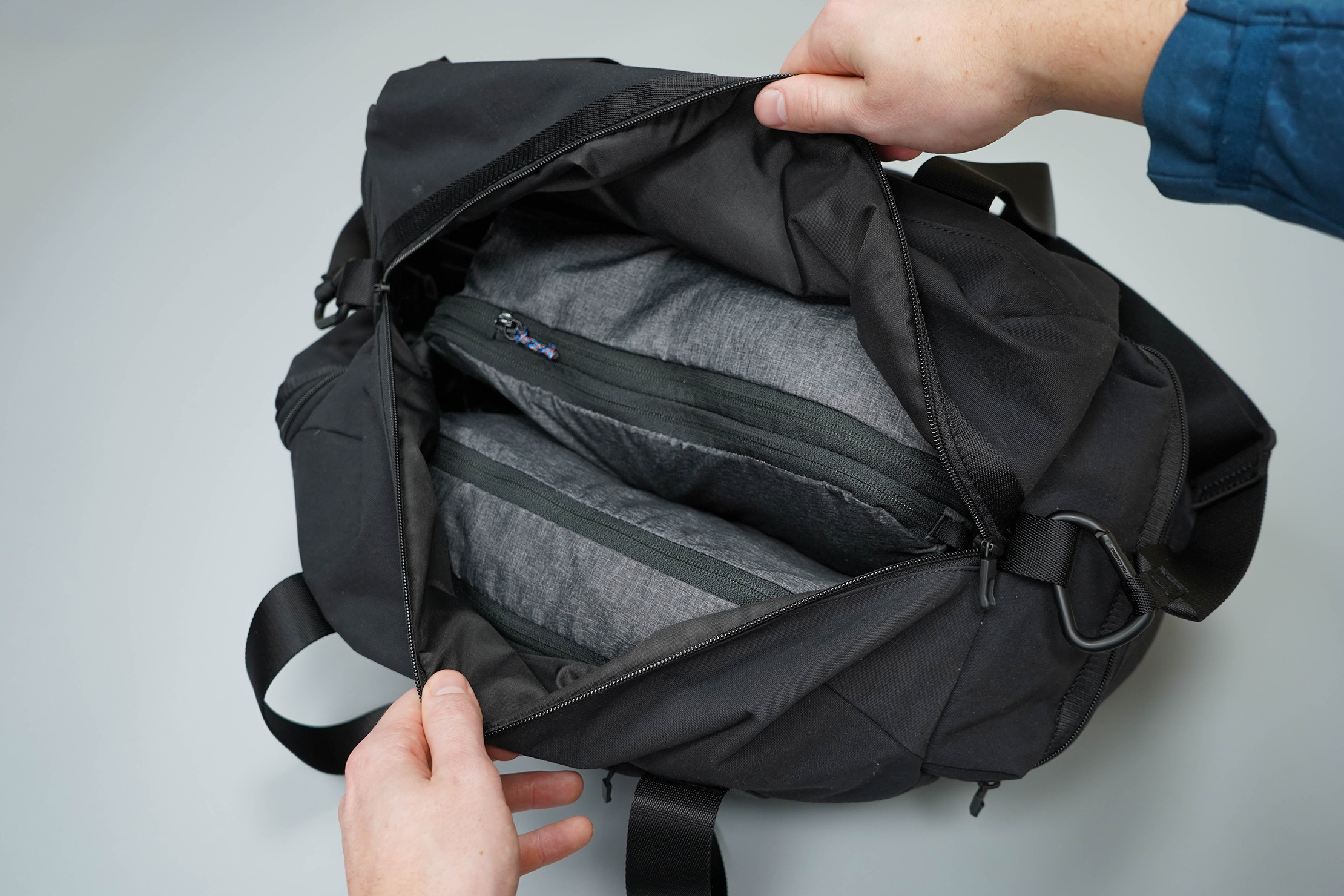 lululemon Command The Day Duffel 37L Fully Packed