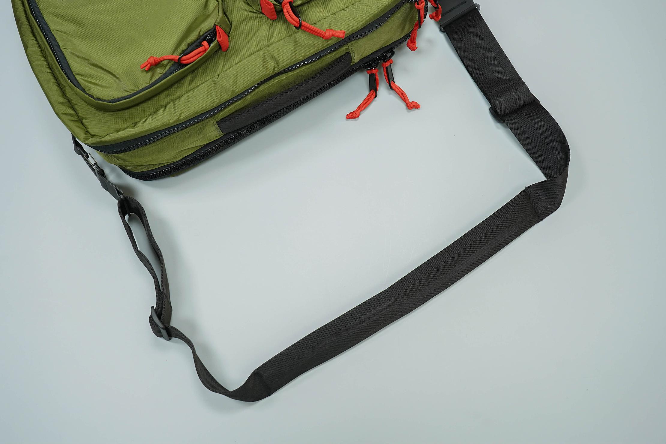 Topo Designs Global Briefcase 3-Day Messenger Strap