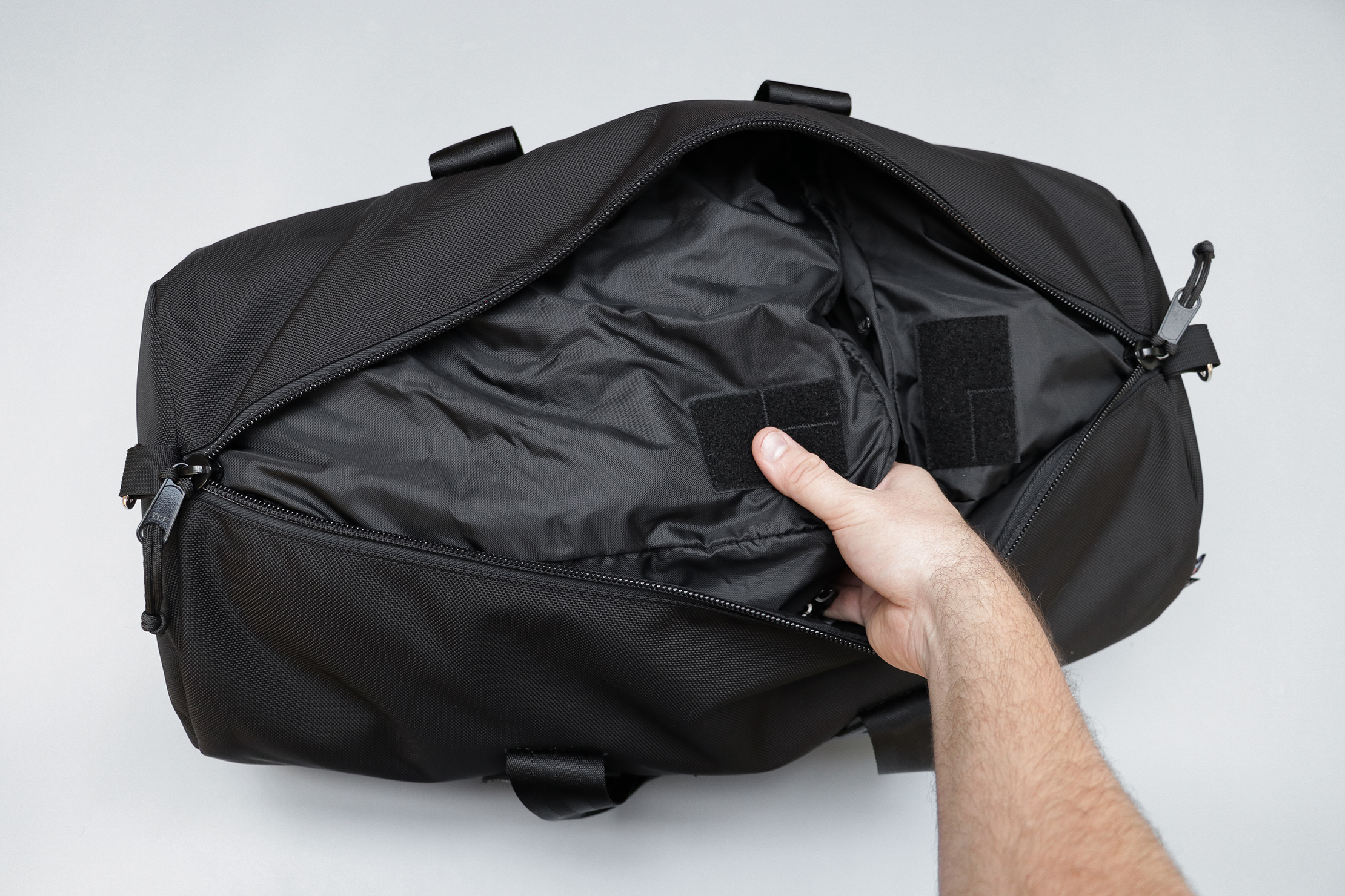 GORUCK Packing Cubes Inside A Duffle