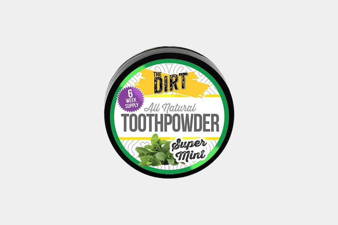 The Dirt Super Mint Trace Mineral Tooth Brushing Powder
