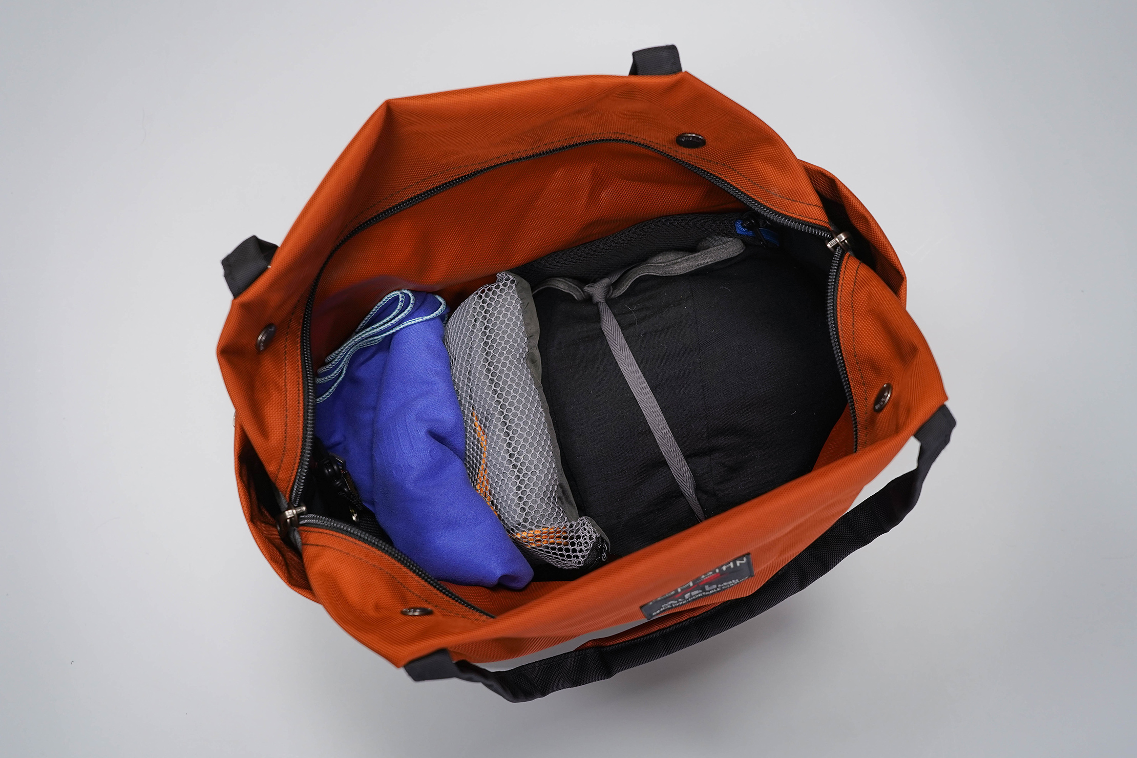 Tom Bihn Pop Tote Main Compartment Packed