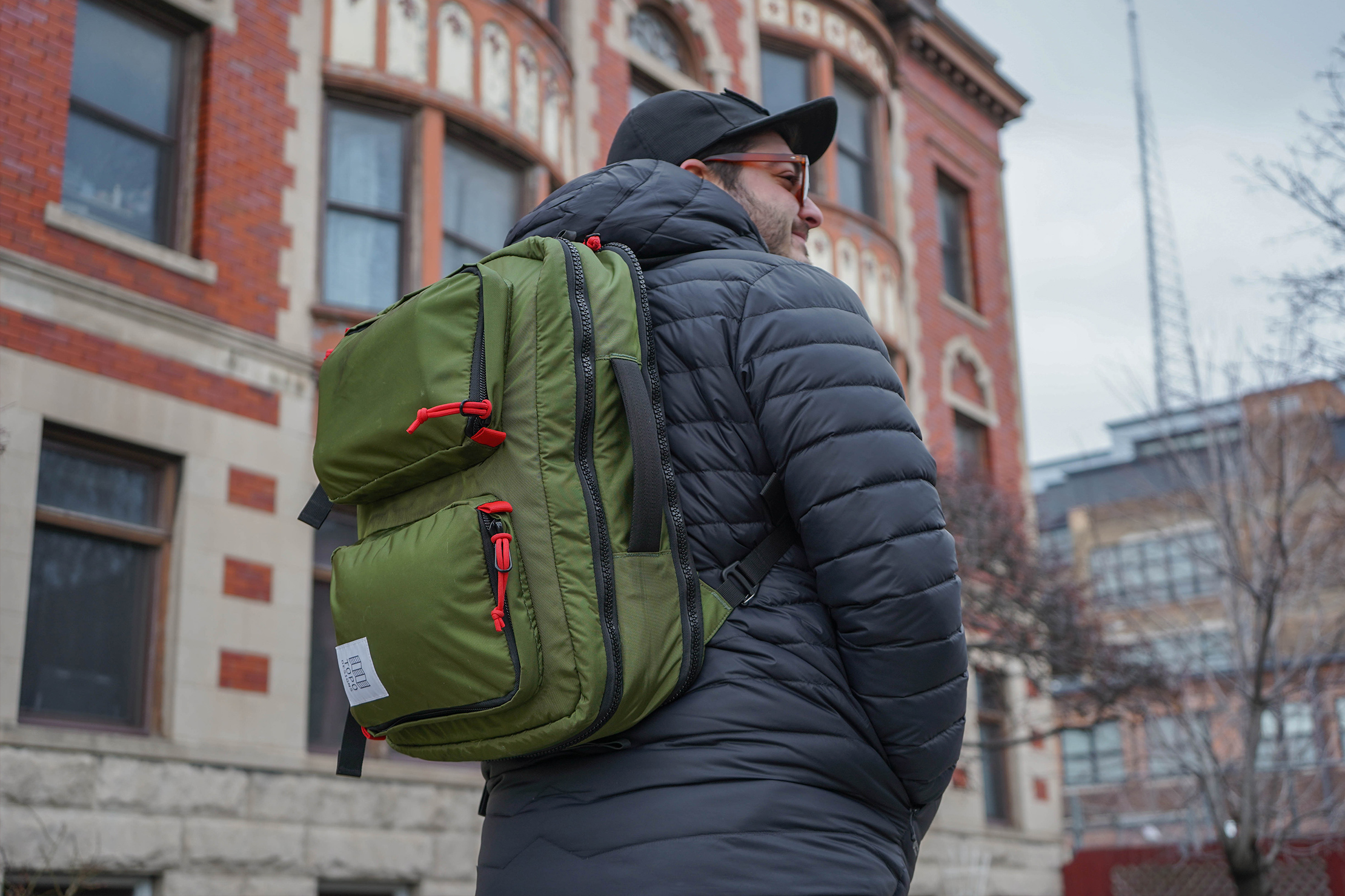 Topo Designs Global Briefcase 3-Day Backpack Carry
