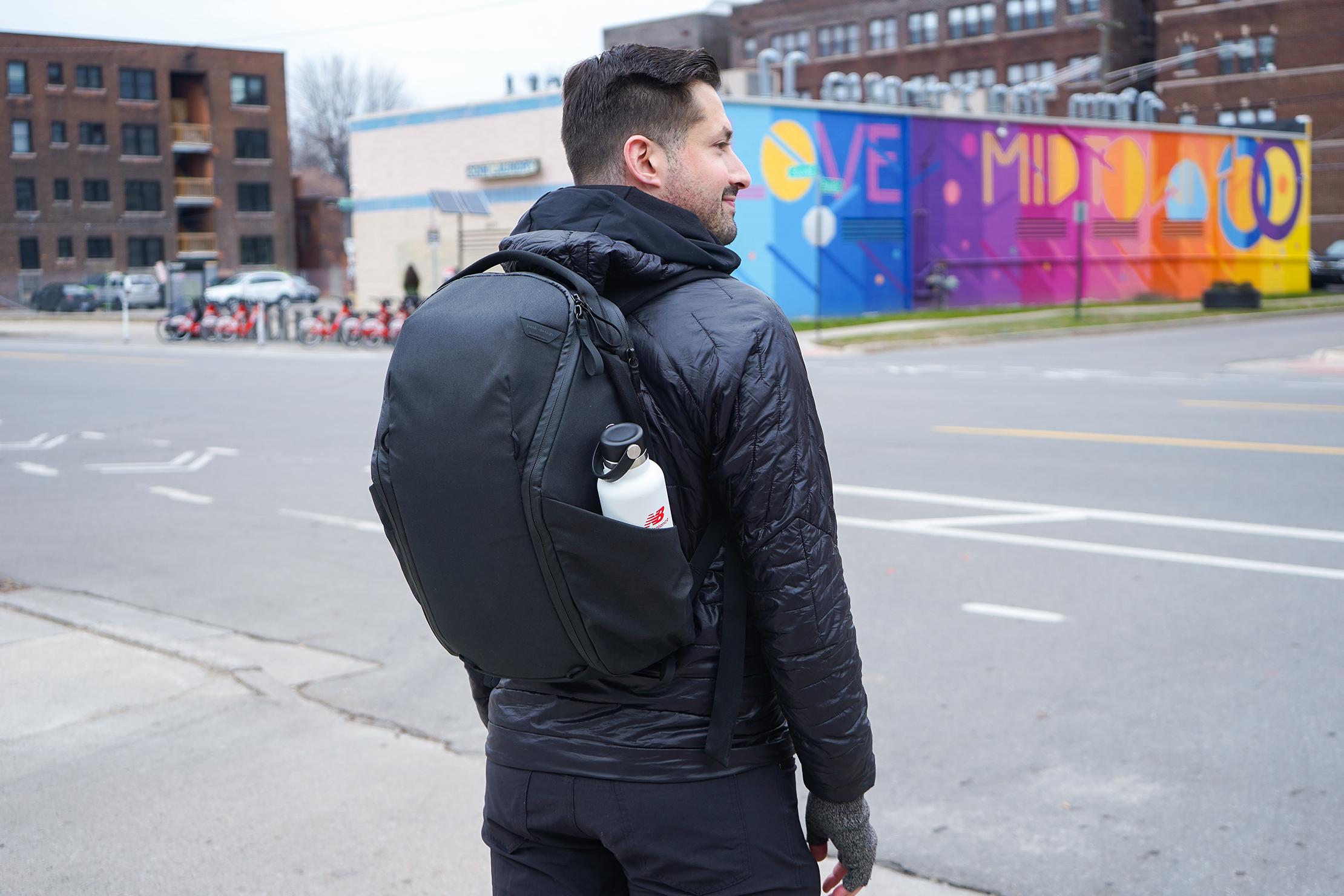 Peak Design Everyday Backpack Zip 20L In Detroit