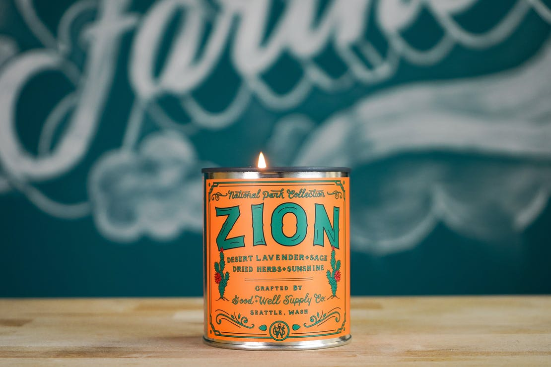 Good + Well Supply Co. Zion National Park Candle