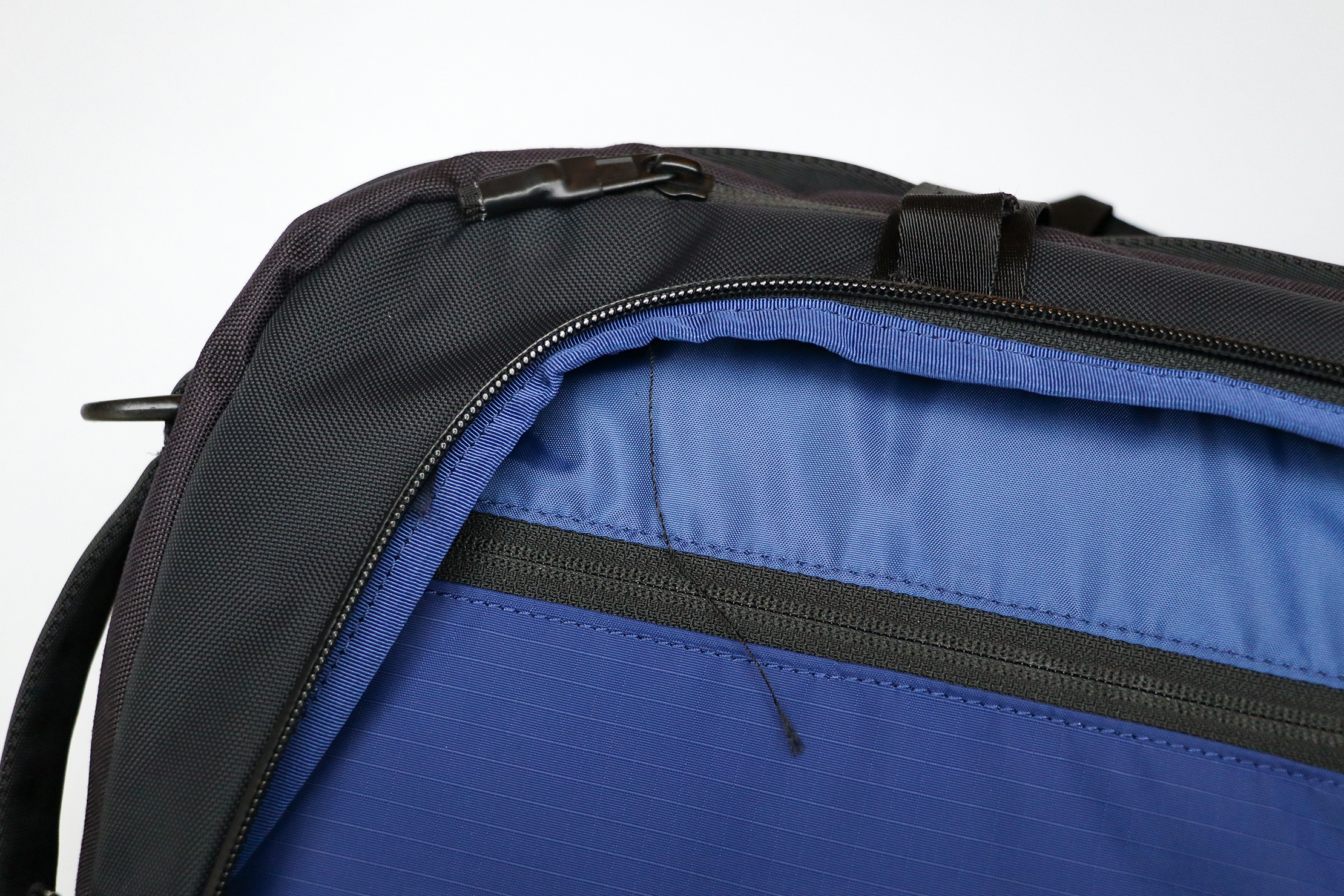 Timbuk2 Never Check Backpack Duffel Stitching