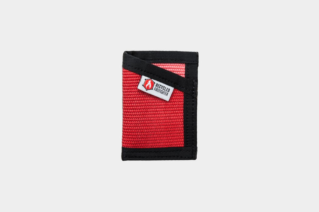 Recycled Firefighter The Fire Hose Sergeant Wallet
