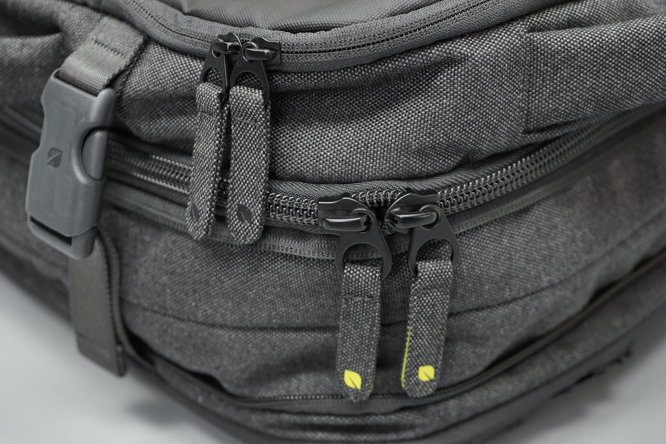 Incase EO Travel Backpack Zippers & Buckles