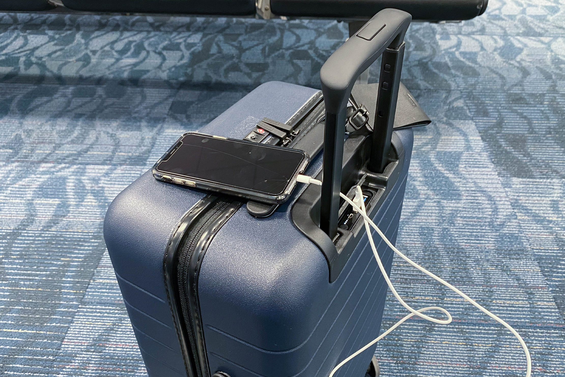 Away The Carry-On Charging Phone With Battery