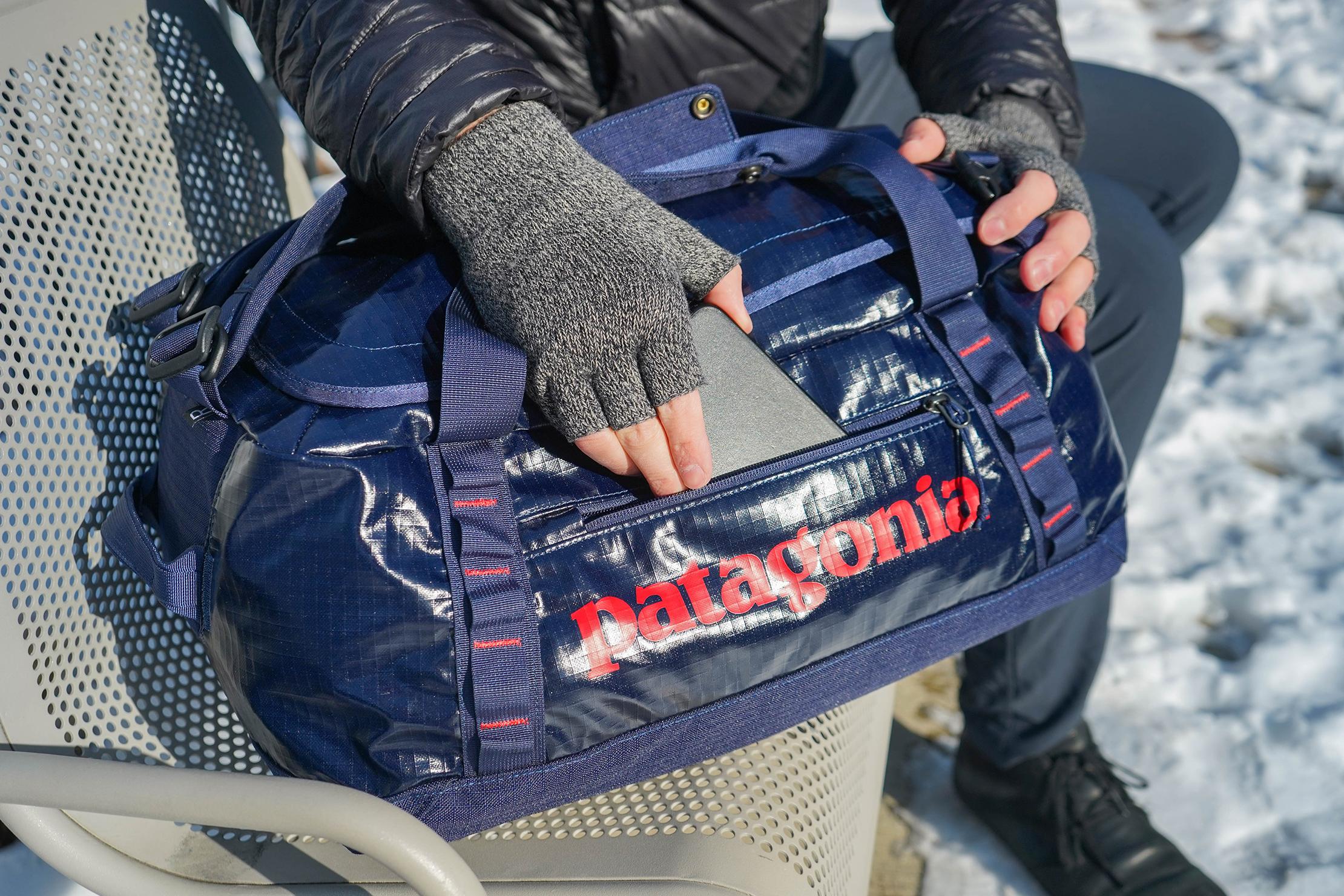 Patagonia Black Hole Duffel Bag 40L In Use