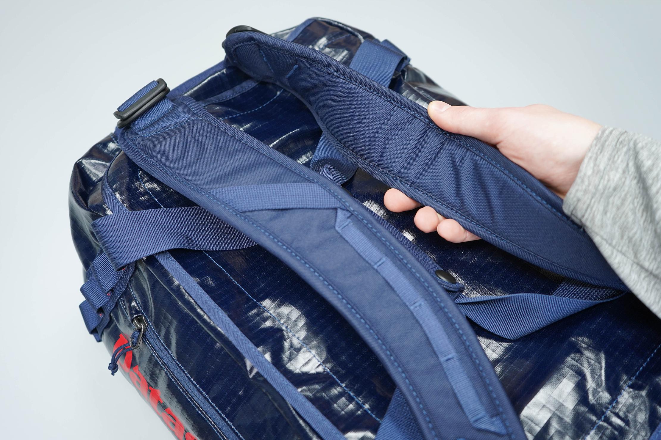 Patagonia Black Hole Duffel Bag 40L Shoulder Straps