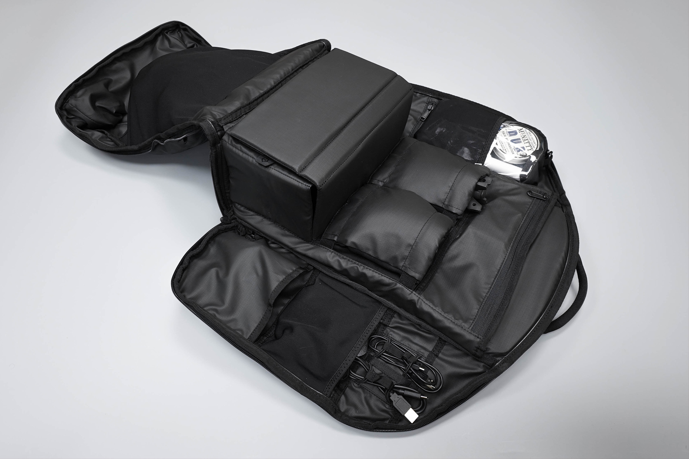 WANDRD DUO Daypack Main Compartment Fully Open