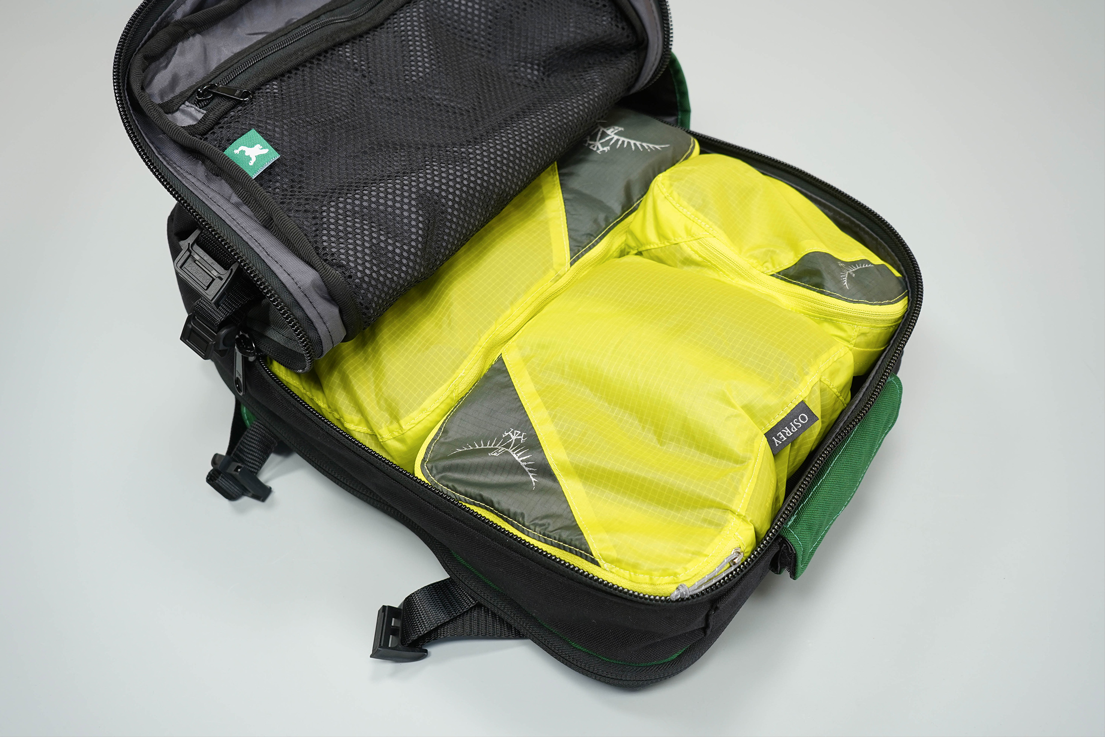 Greenroom136 Rainmaker Packing Cubes Inside Main Compartment