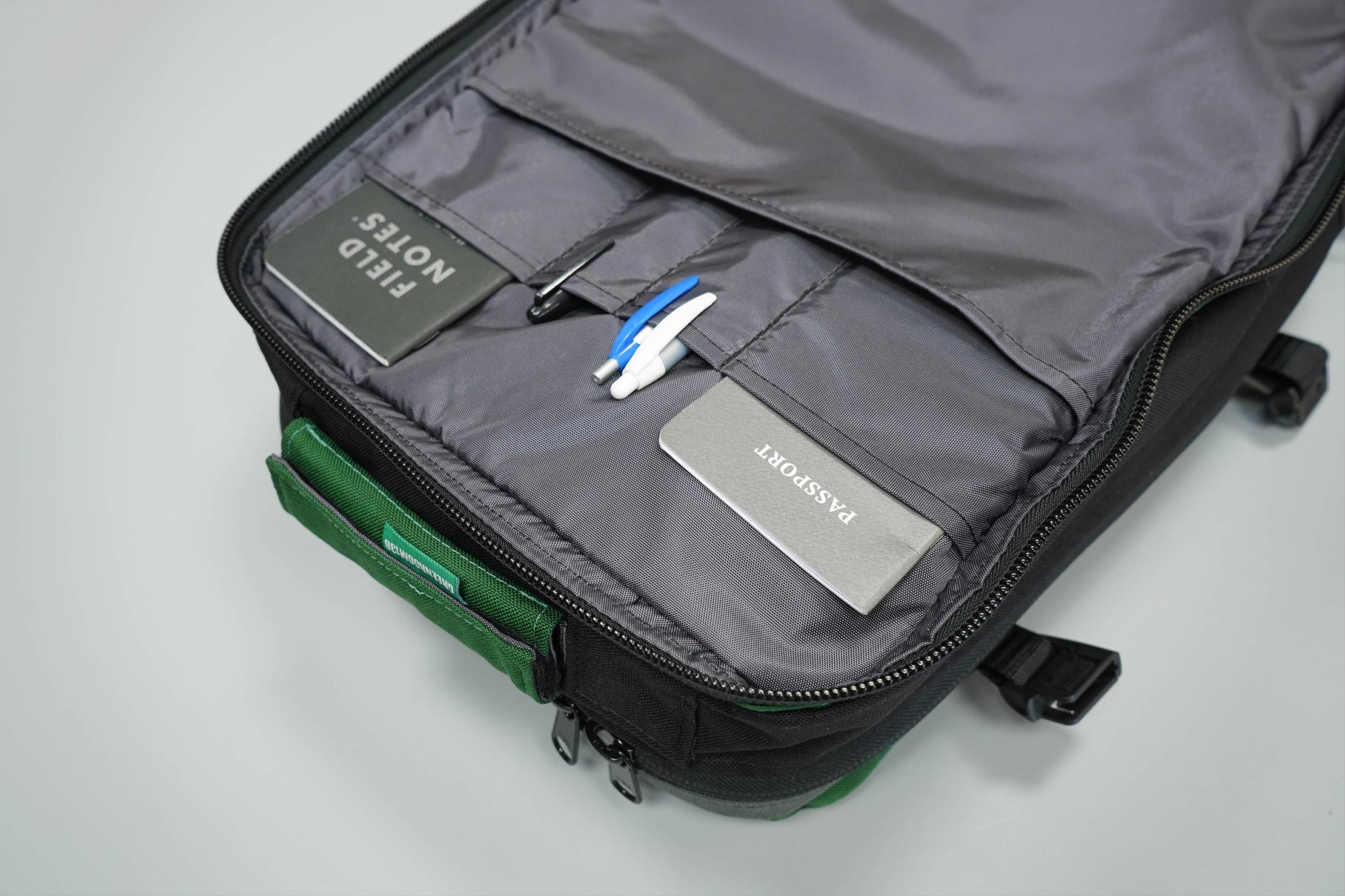Greenroom136 Rainmaker Laptop Organization