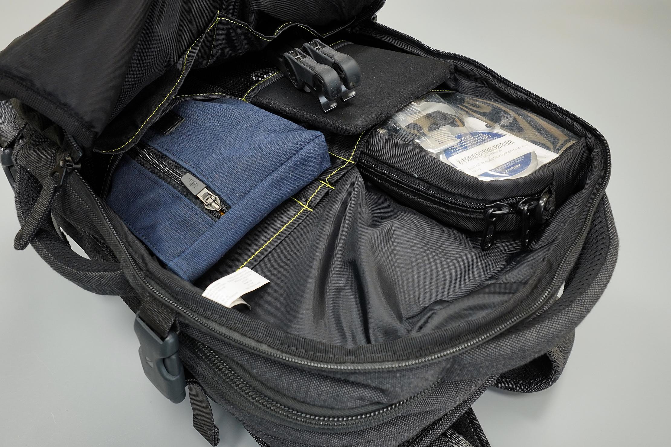 Incase EO Travel Backpack Front Pocket Organization