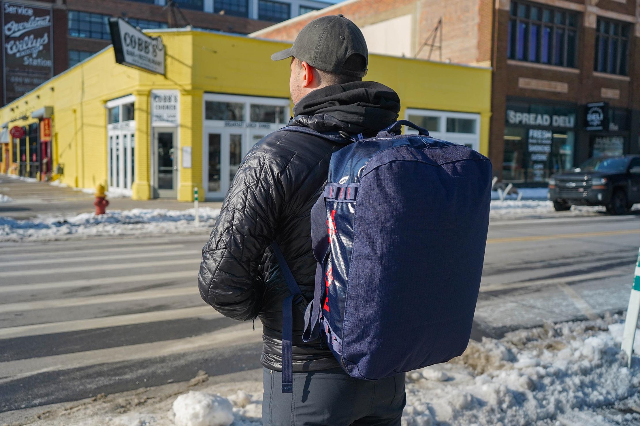 Patagonia Black Hole Duffel Bag 40L Backpack Carry