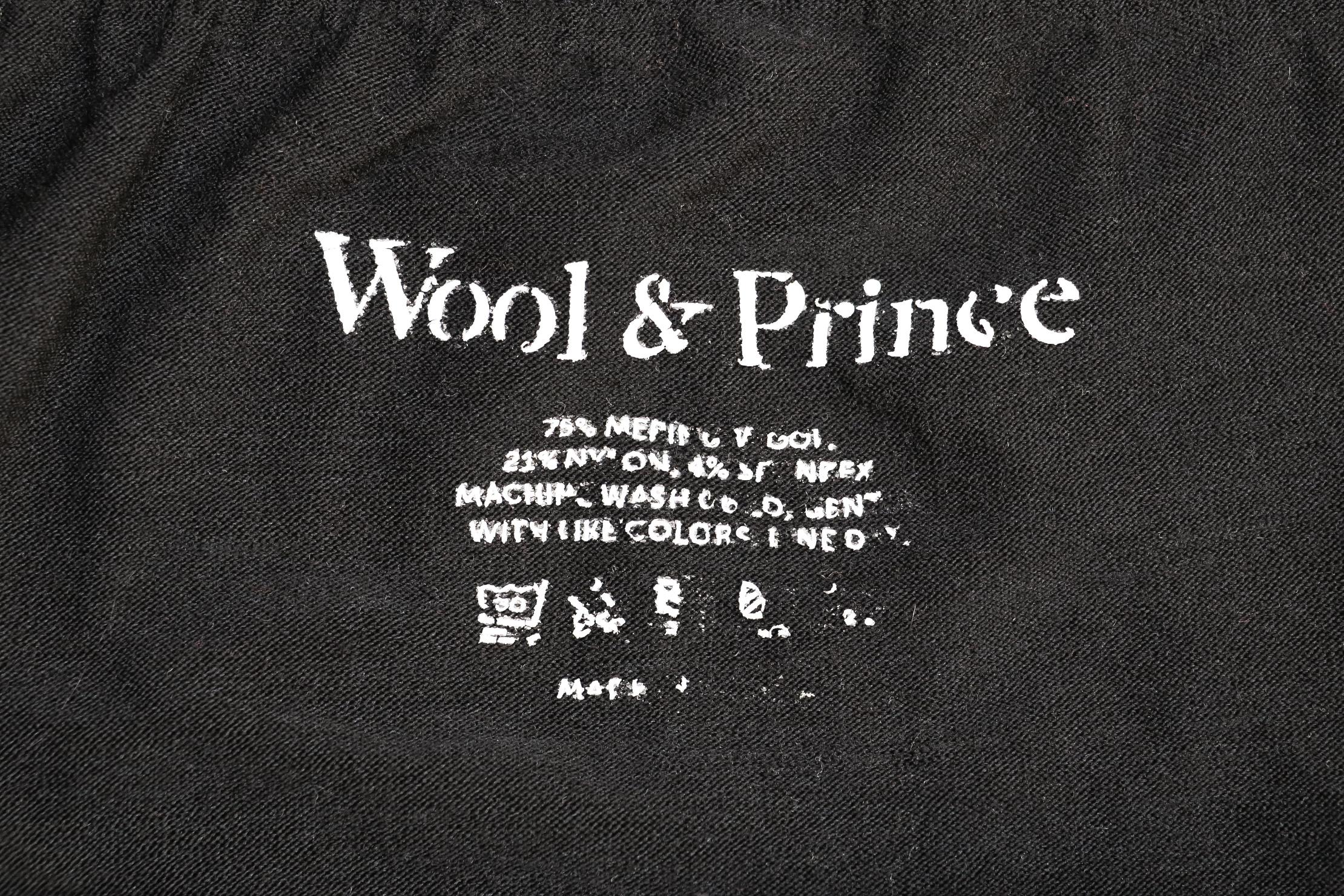 Wool & Prince Boxers 2.0 Worn Tag