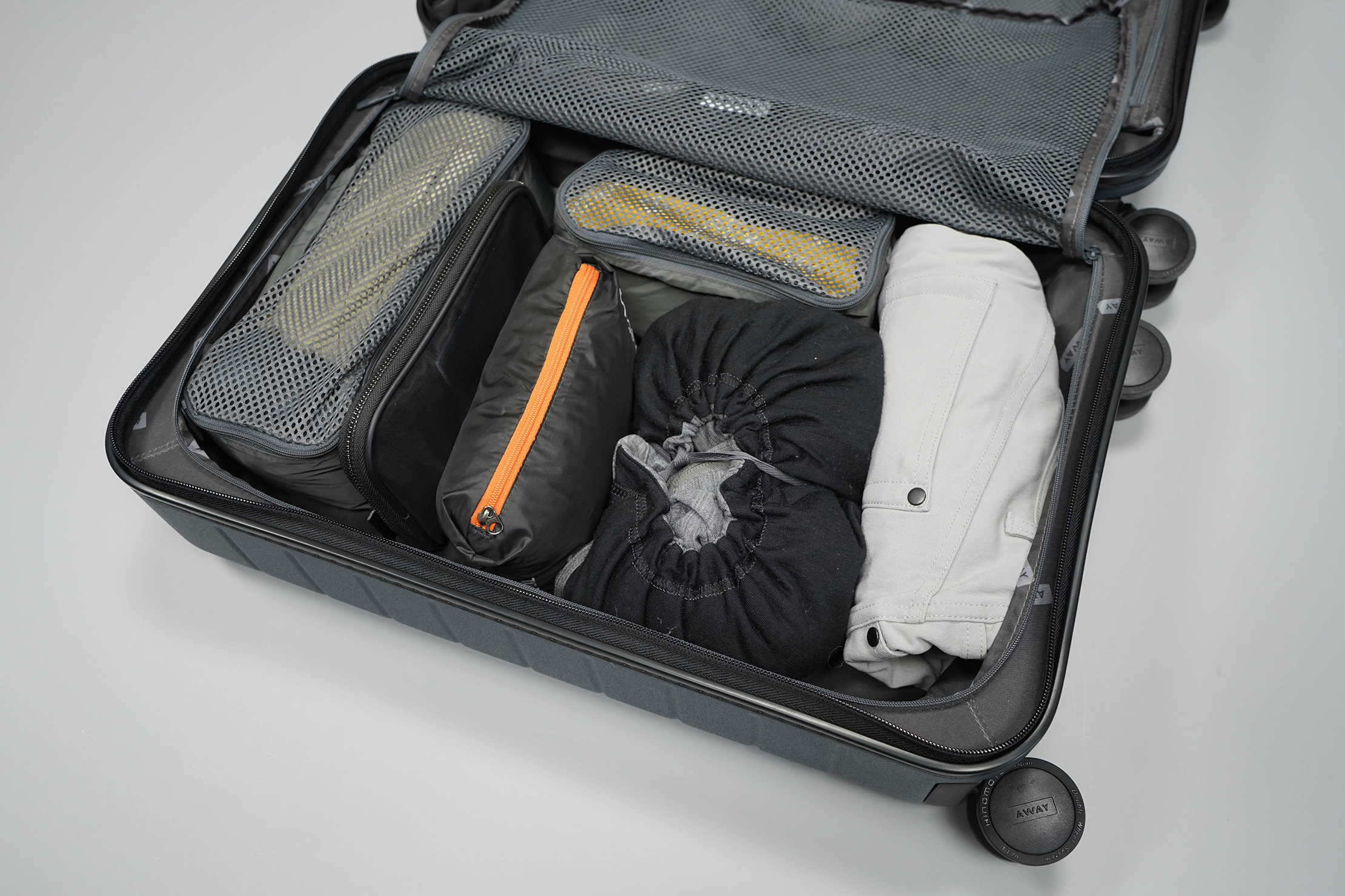 Away The Carry-On Left Side Packed