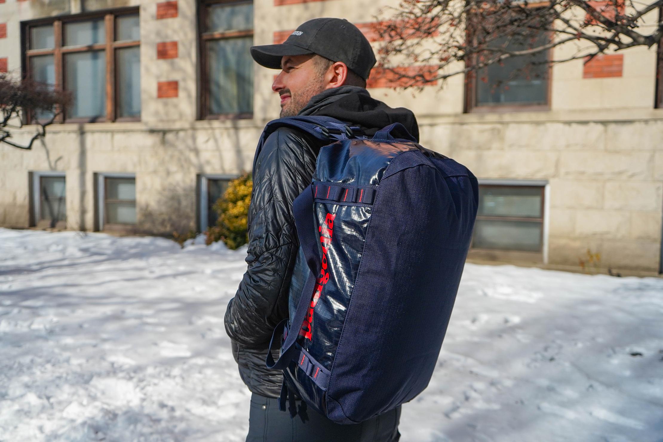 Patagonia Black Hole Duffel Bag 40L One Shoulder Carry