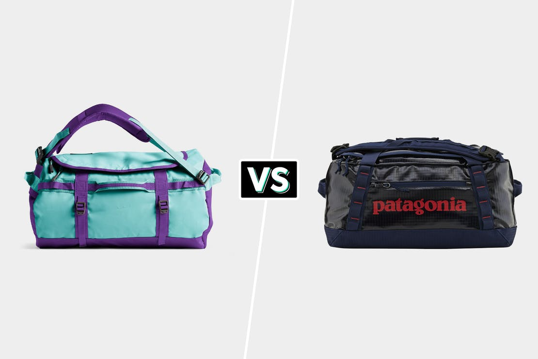 North Face Base Camp Duffel Vs Patagonia Black Hole Duffel Bag 40L Comparison