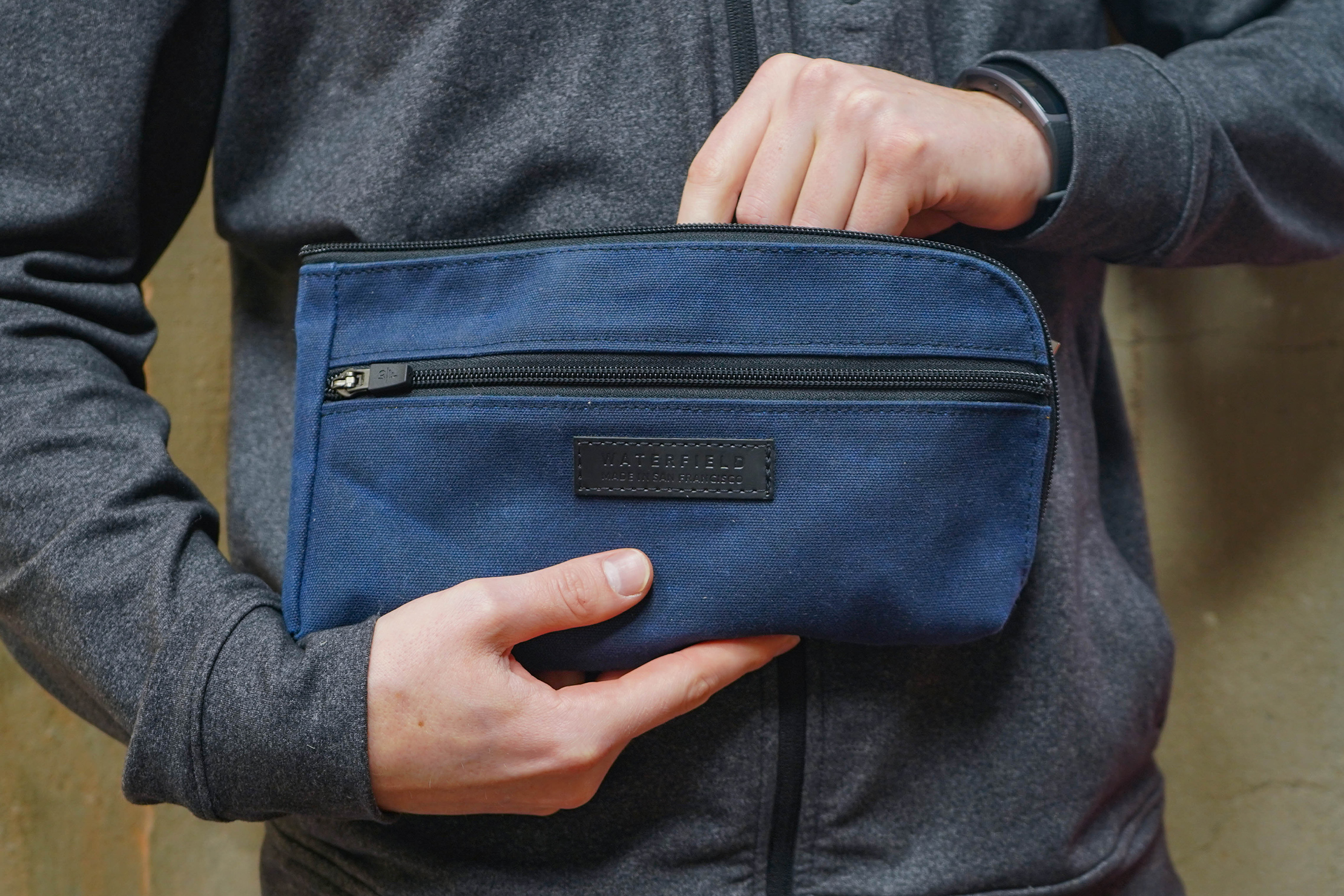Waterfield Designs Gear Pouches In Hand