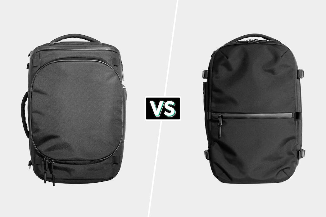 Aer Capsule Pack Max Vs Aer Travel Pack 2