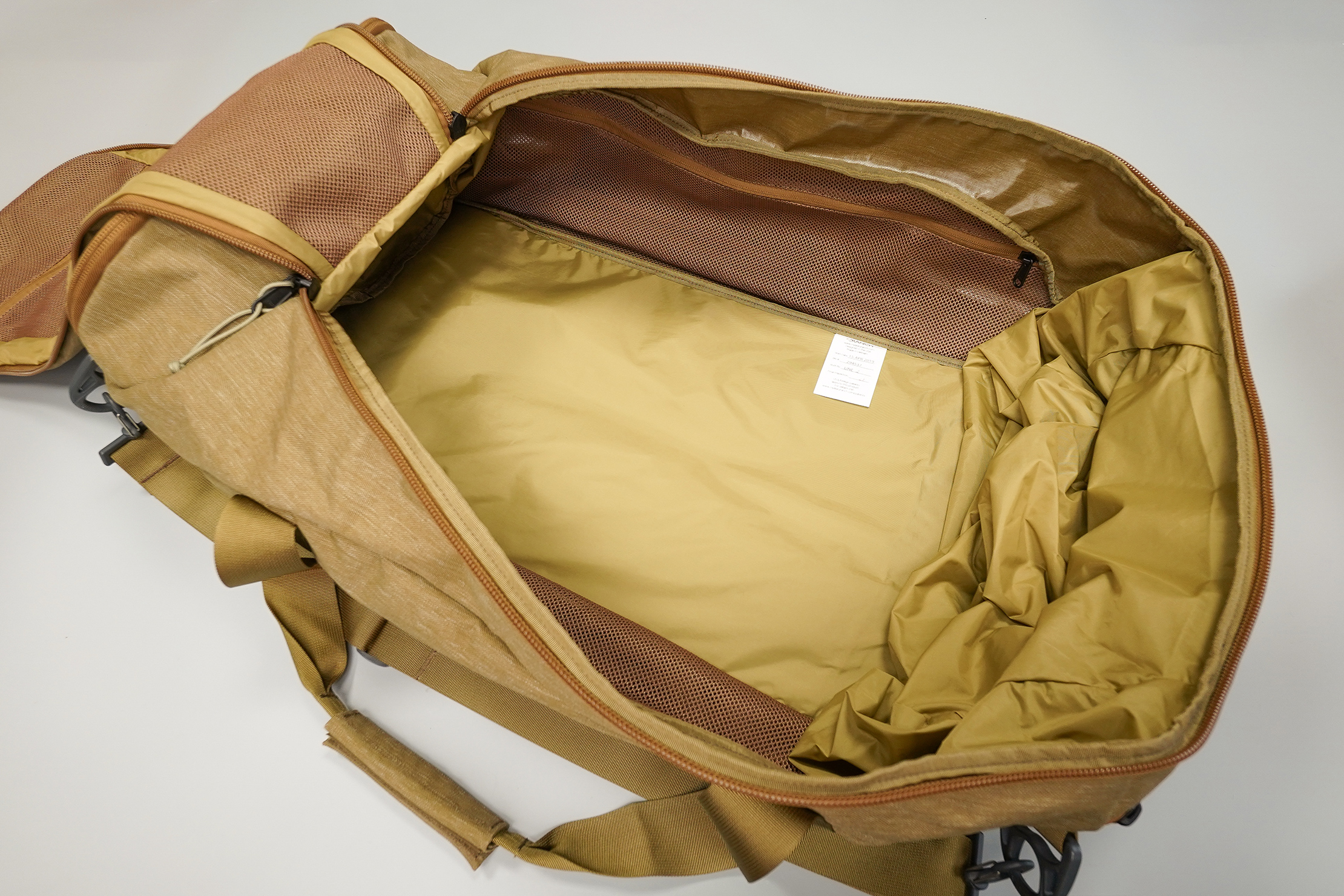 Mystery Ranch Mission Duffel 90L Main Compartment