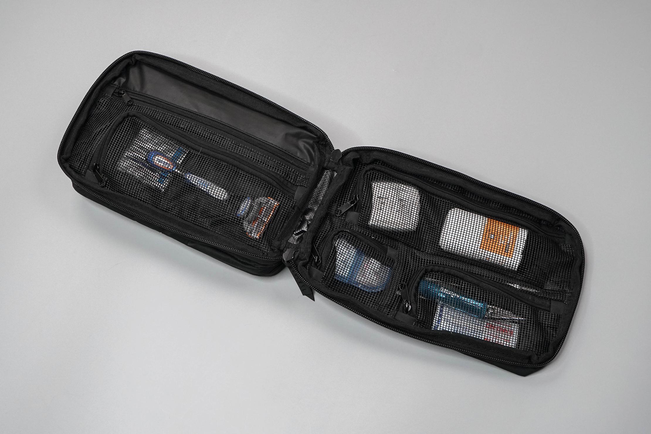 Gravel Explorer Plus Toiletry Bag Open
