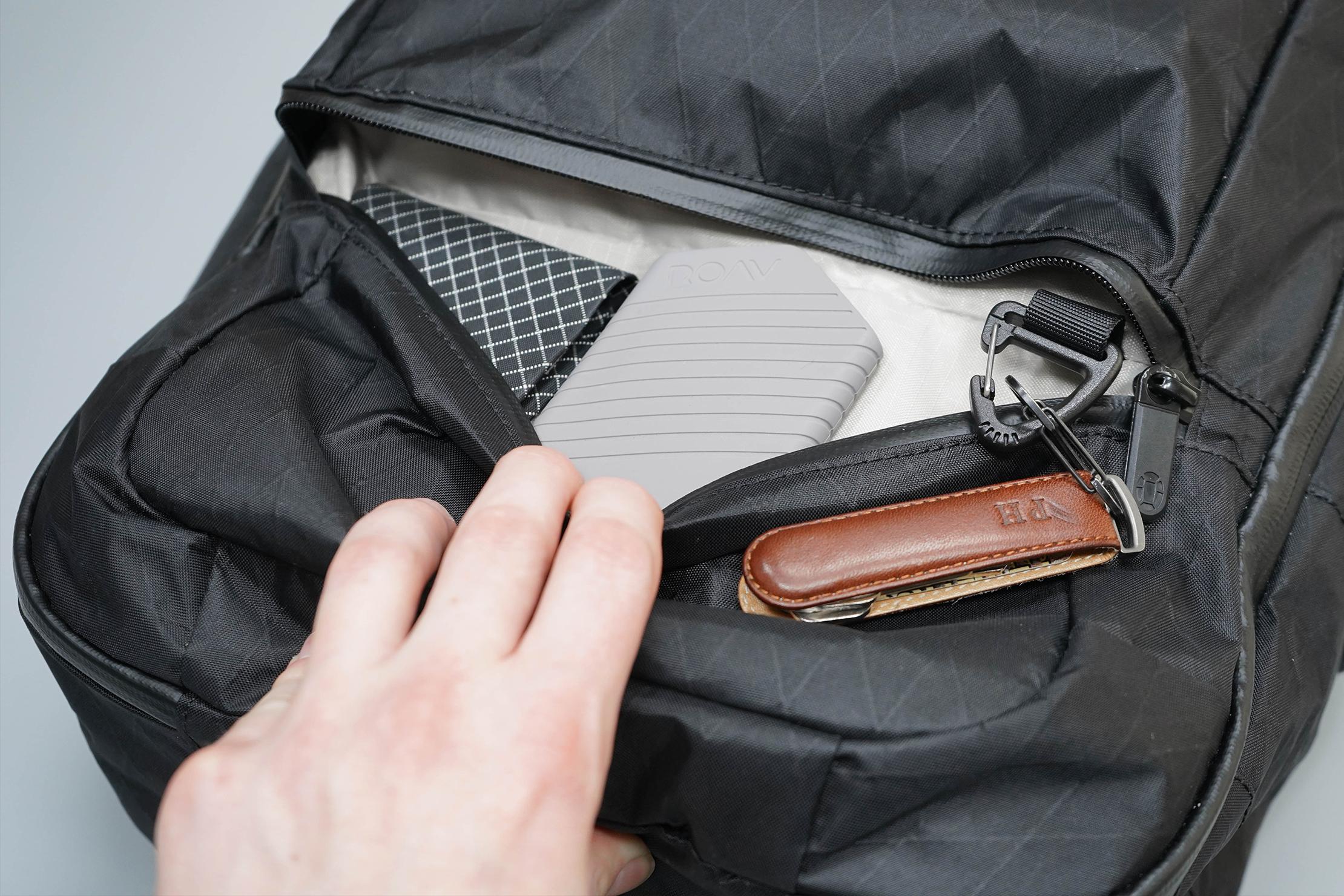 Tortuga Outbreaker Laptop Backpack Front Bottom Pocket