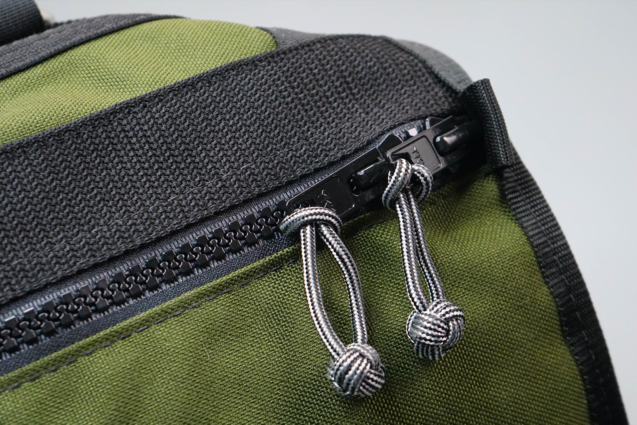 Red Oxx C-Ruck Carry-On Rucksack Zipper