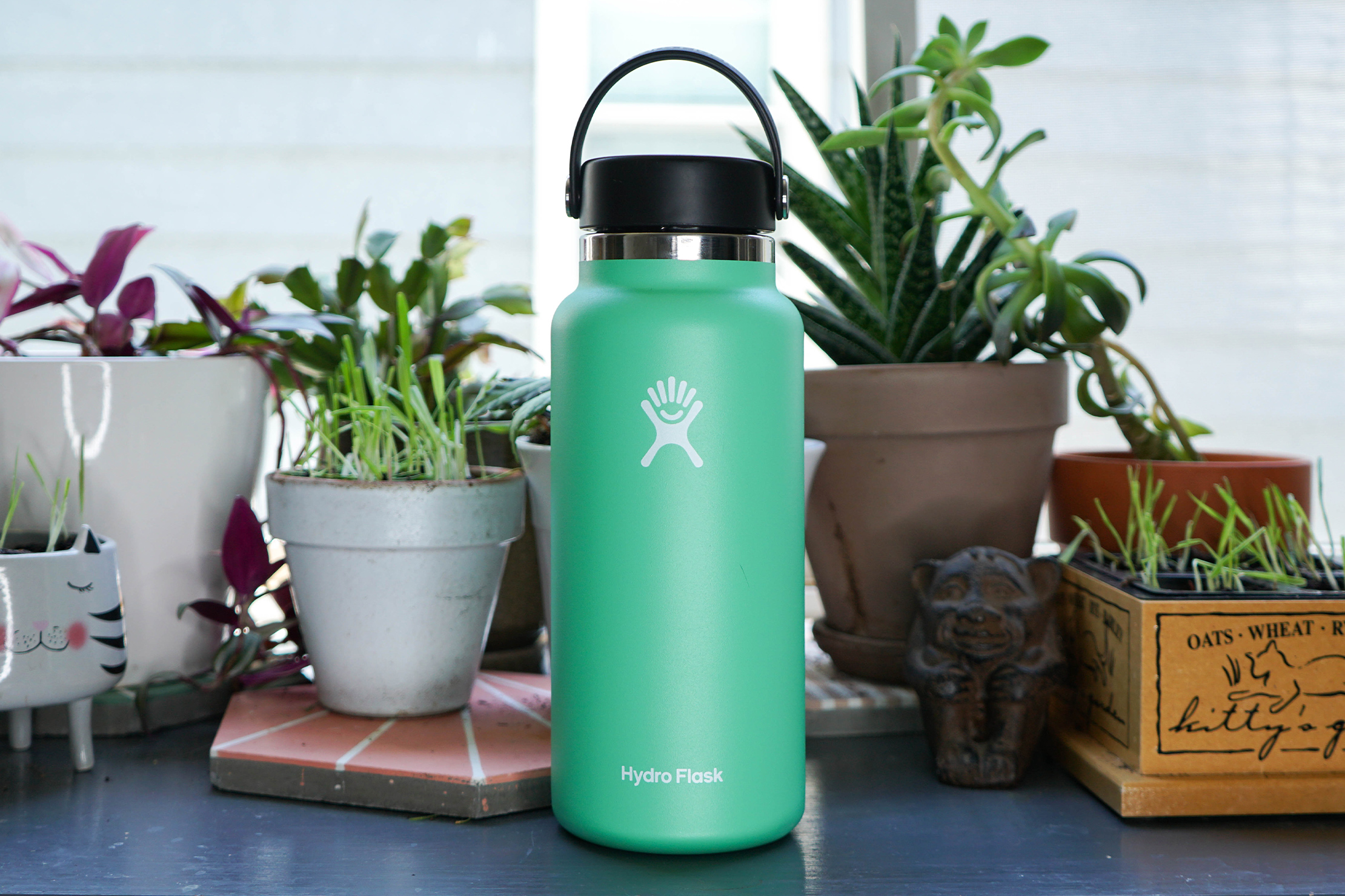 Hydro Flask 32oz Wide Mouth With Flex Cap In Ferndale