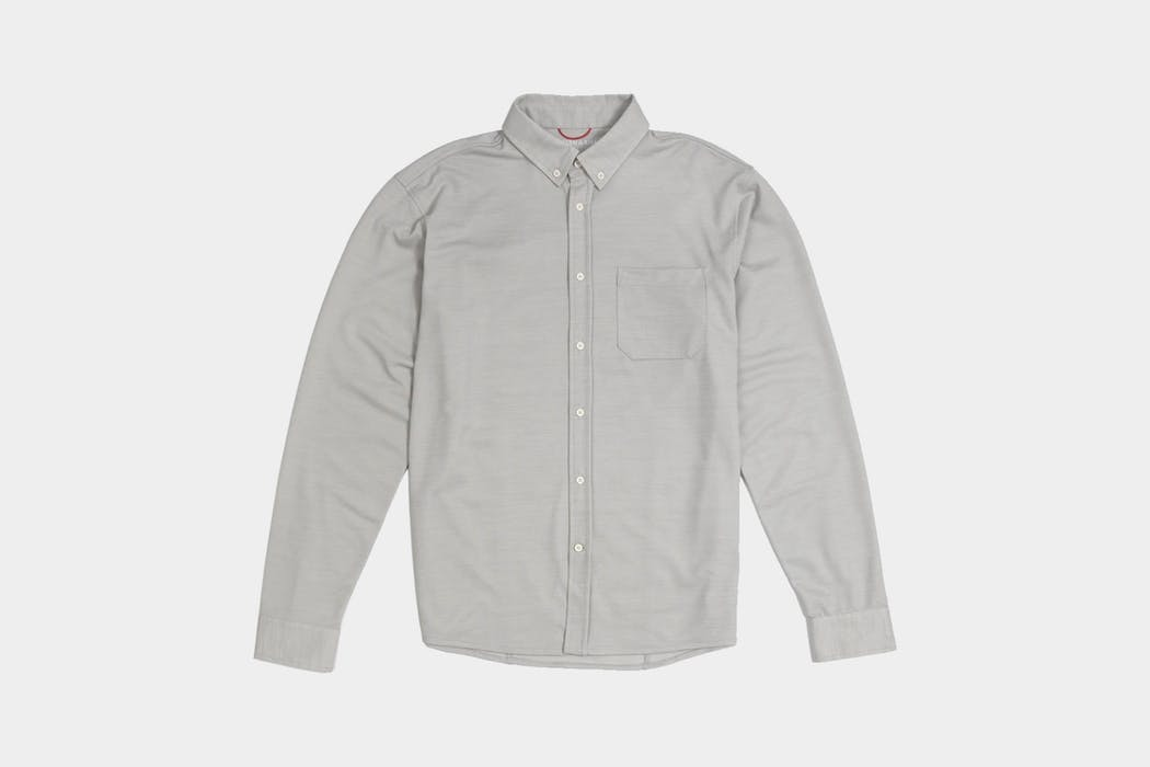 Western Rise Limitless Merino Button Down Shirt