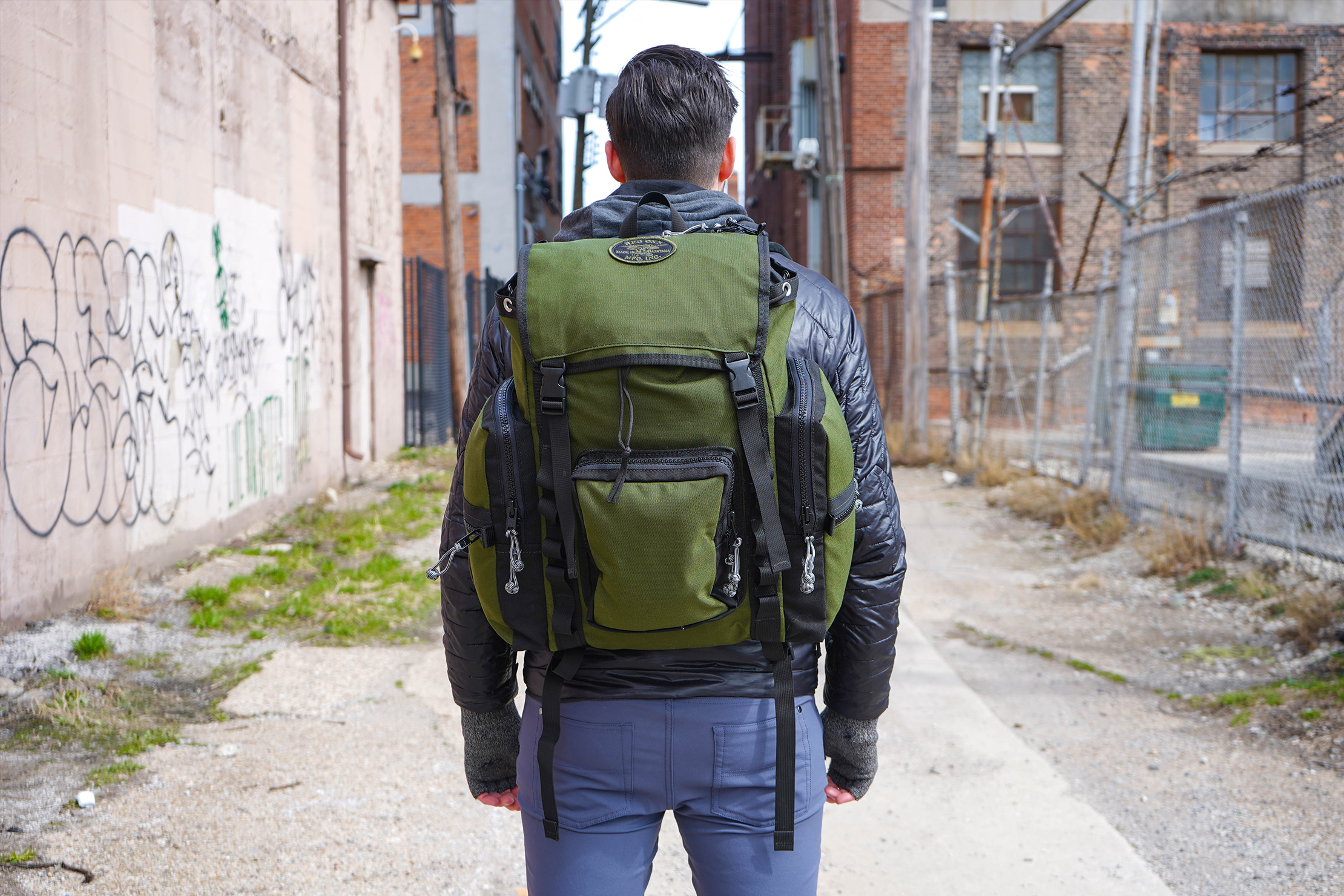 Red Oxx C-Ruck Carry-On Rucksack In Detroit