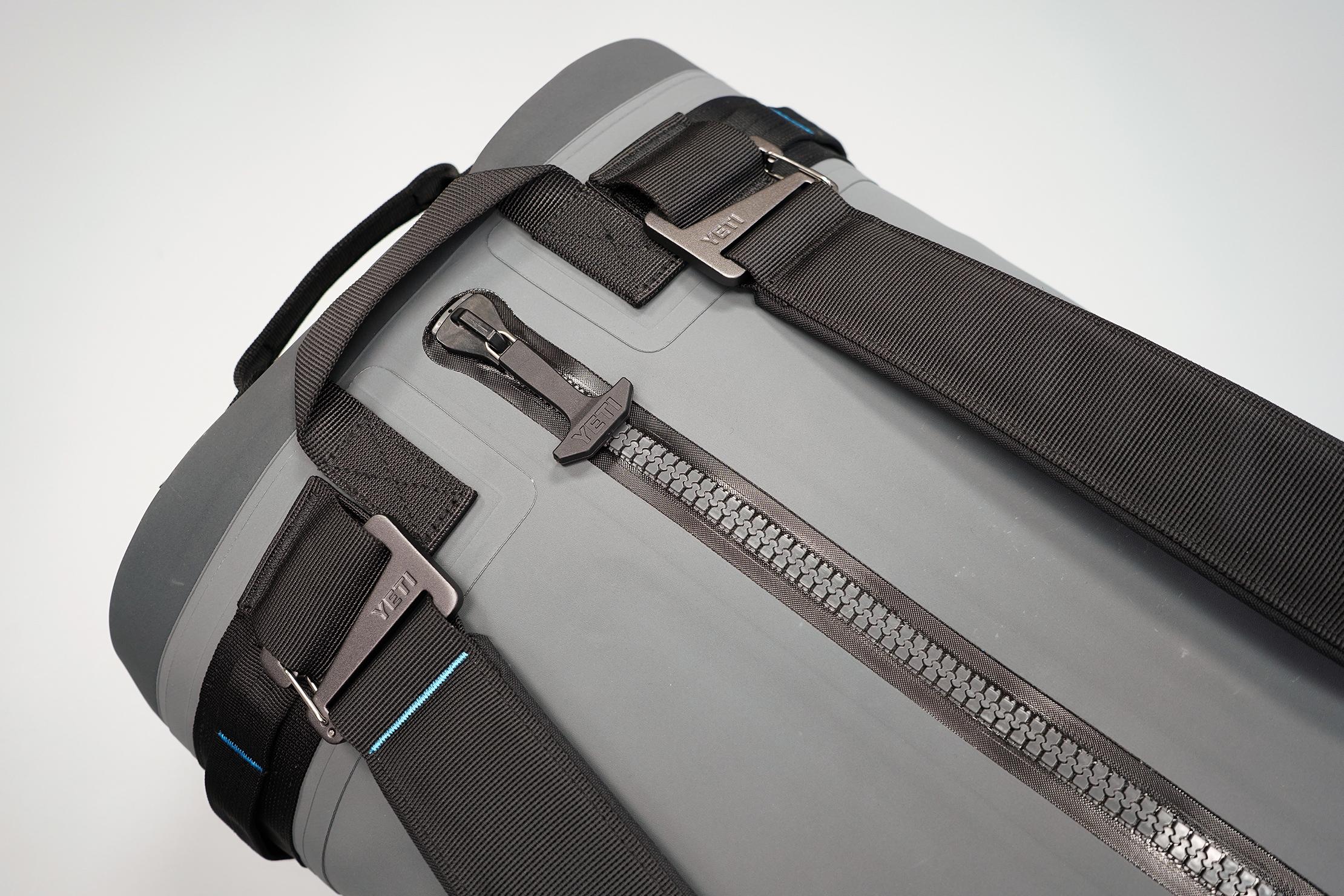 YETI Panga 50 Dry Duffel Zippers