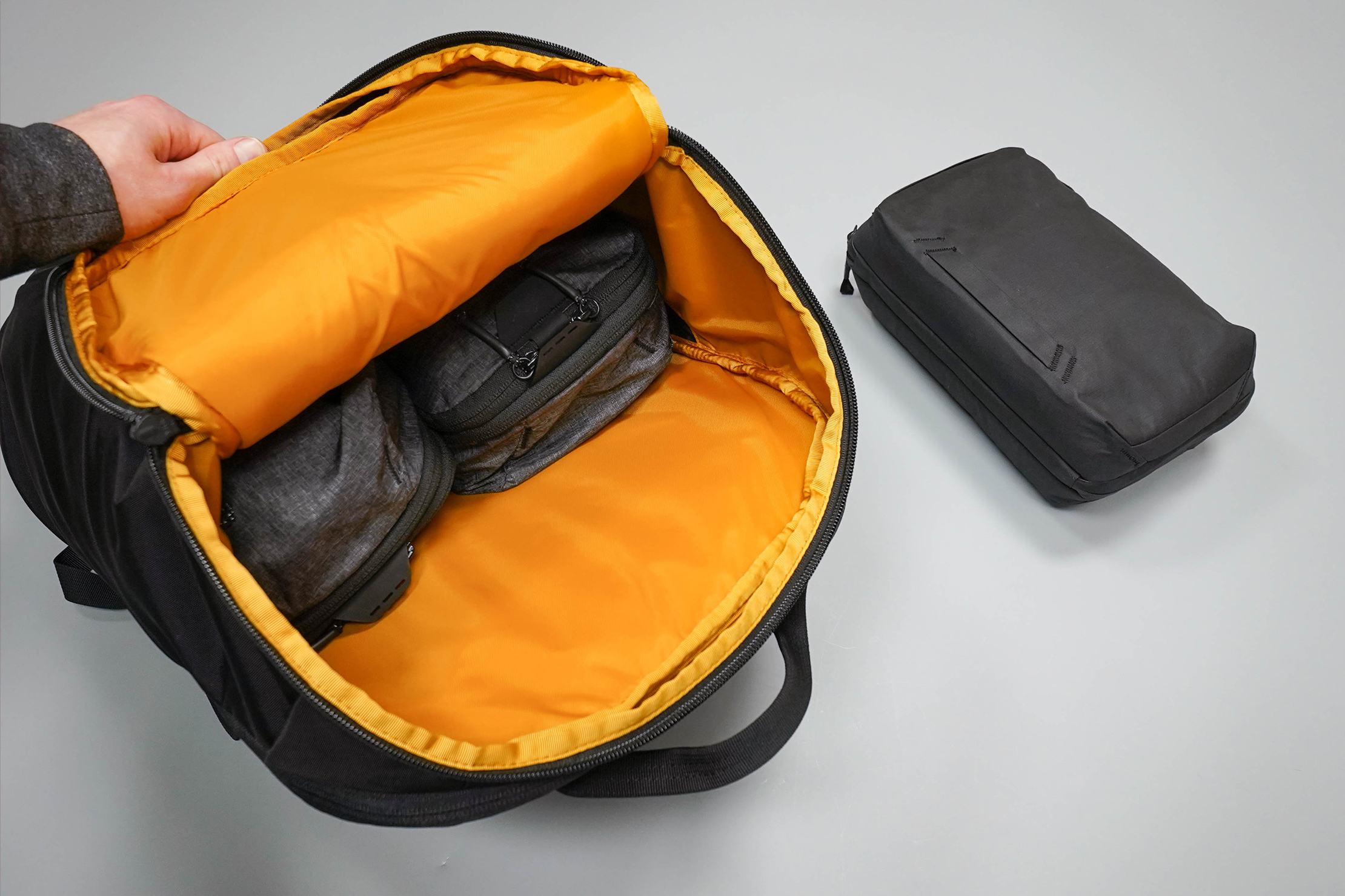 The North Face Kaban Backpack Main Compartment