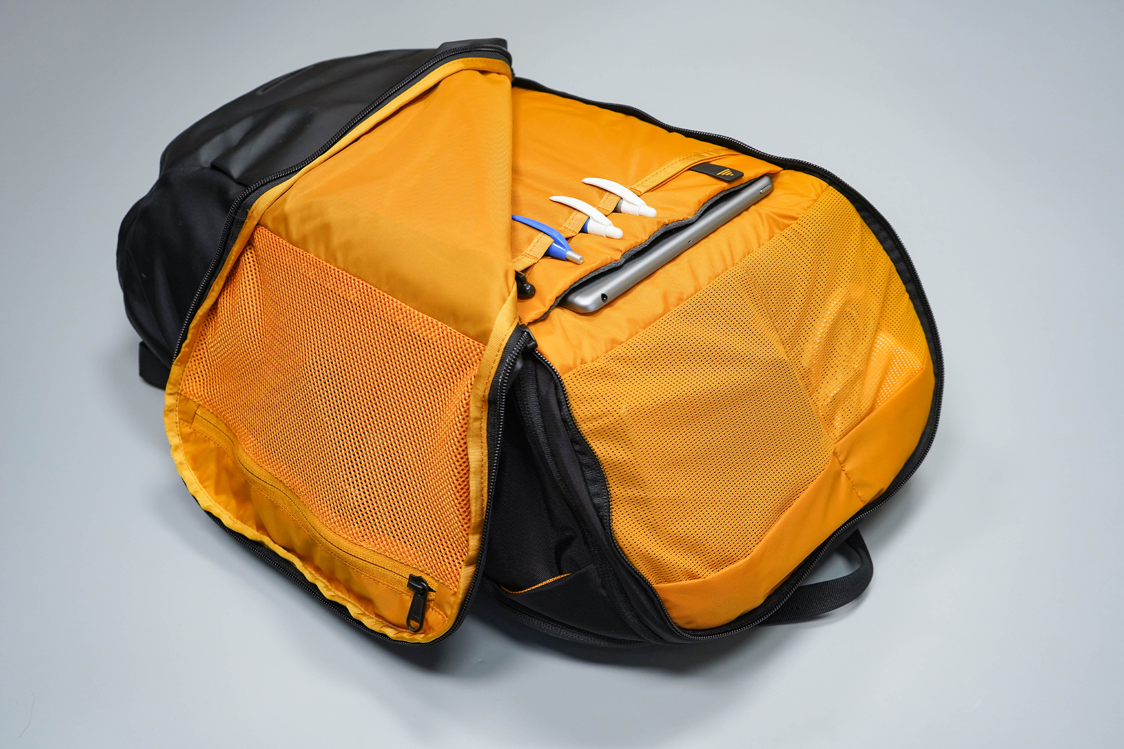 The North Face Kaban Backpack Front Organization