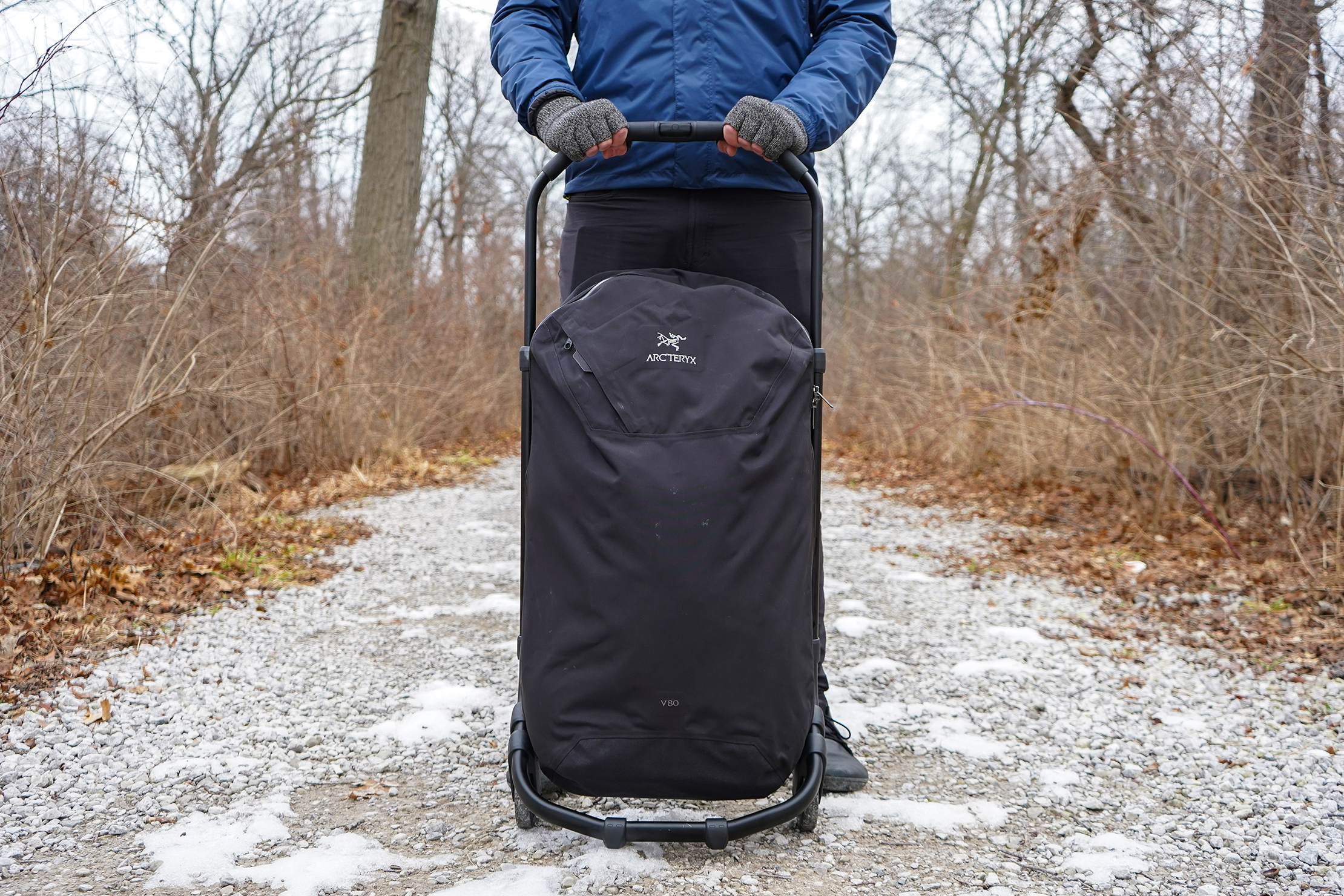 Arc'teryx V80 Rolling Duffle In Detroit, Michigan