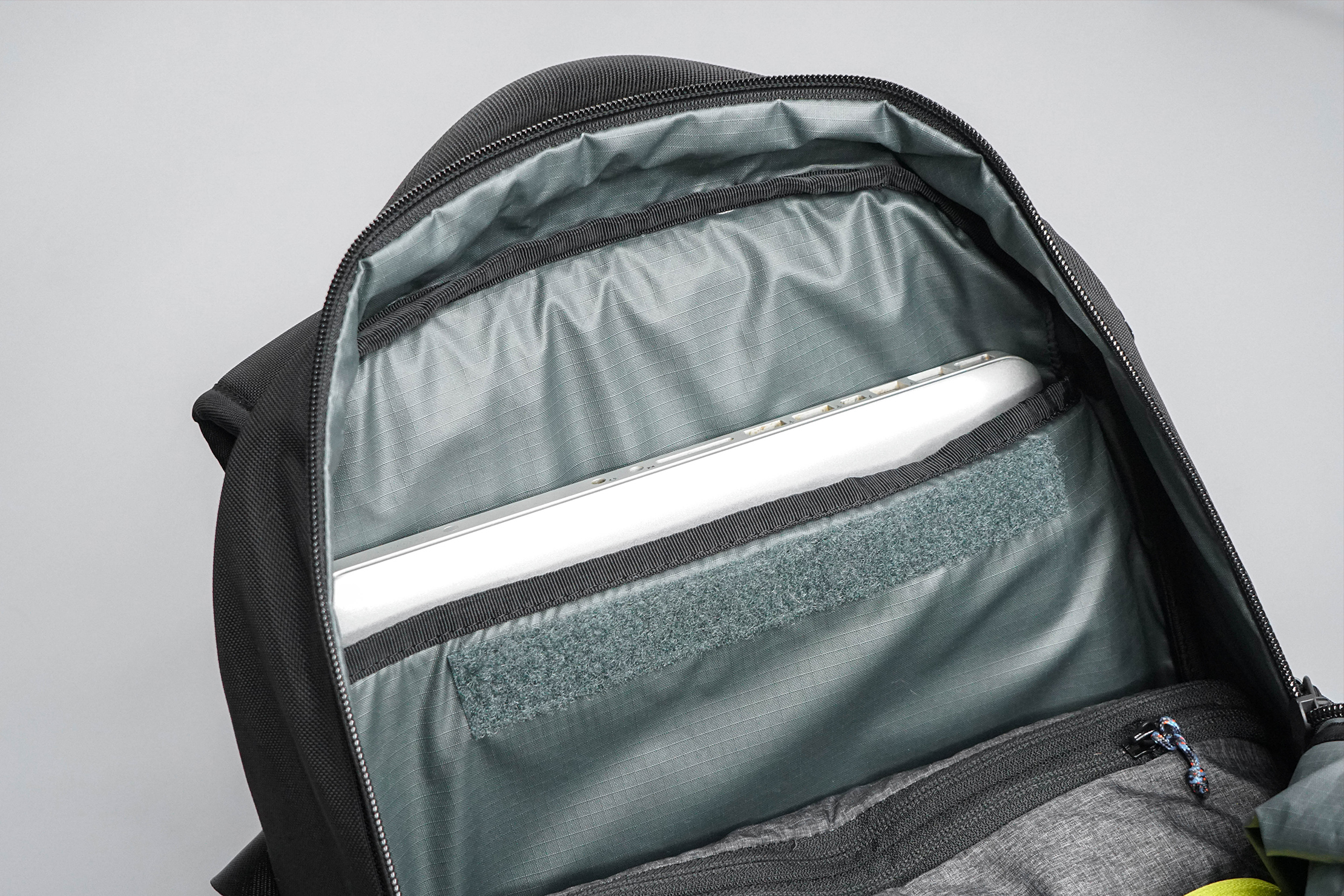 Timbuk2 Parker Commuter Backpack Laptop Tucked In