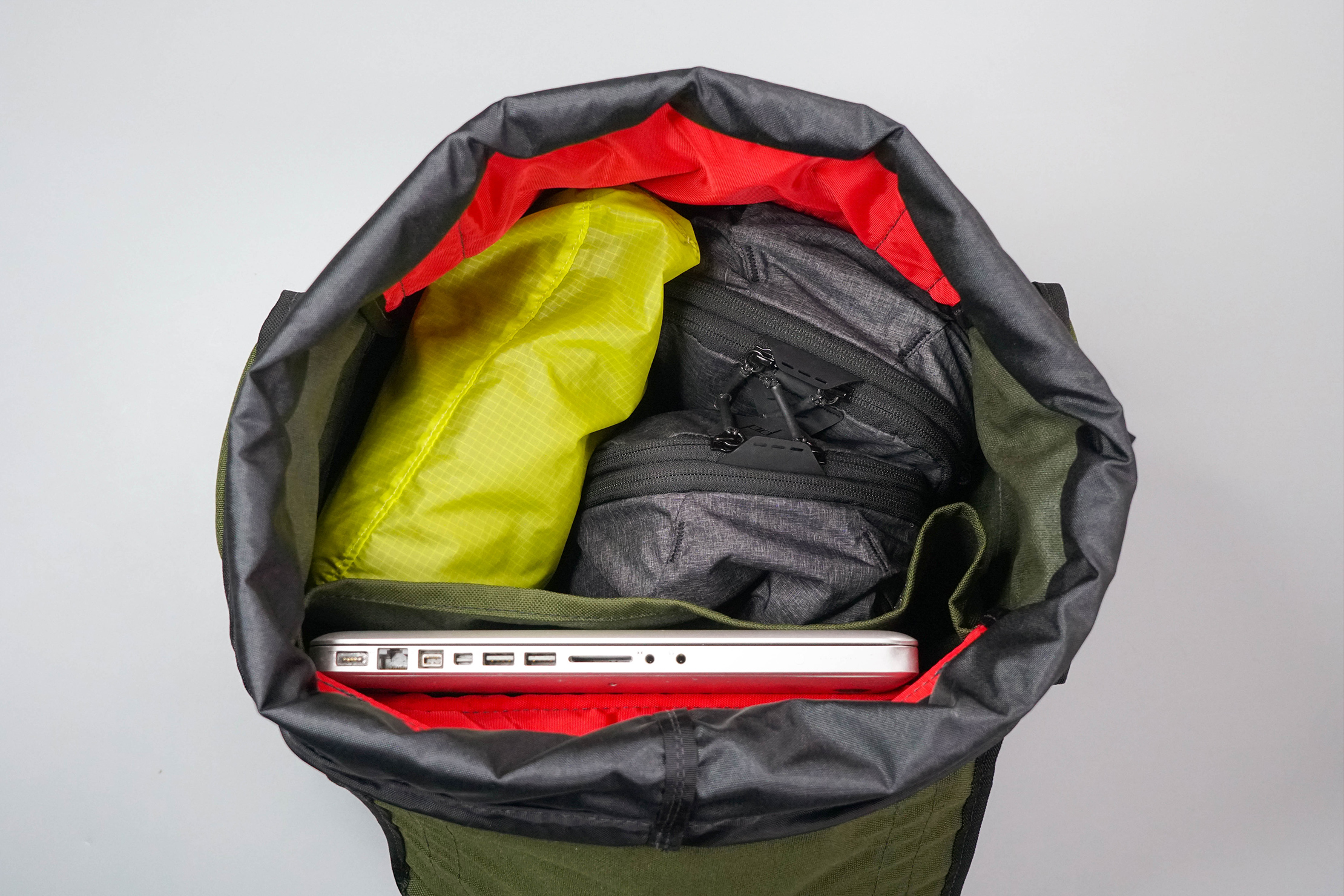 Red Oxx C-Ruck Carry-On Rucksack Main Compartment