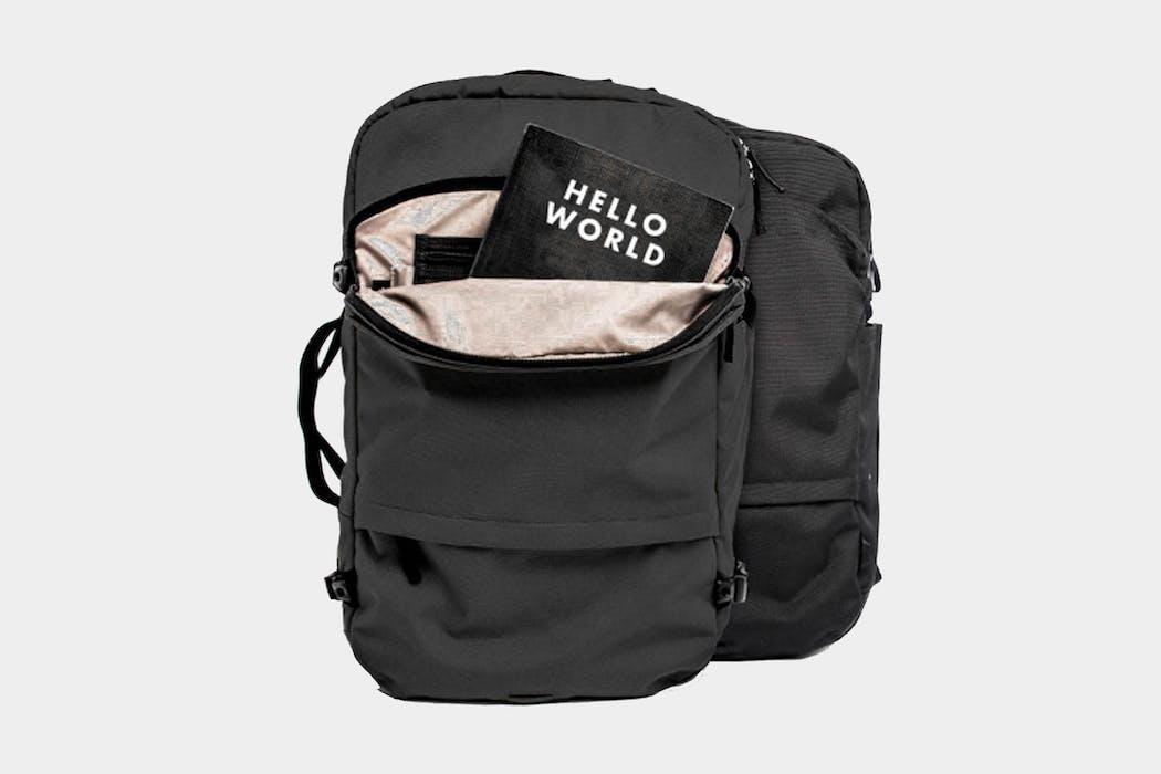 Pakt Travel Backpack