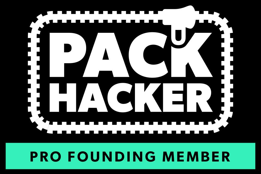 Pack Hacker Pro Founding Member Patch