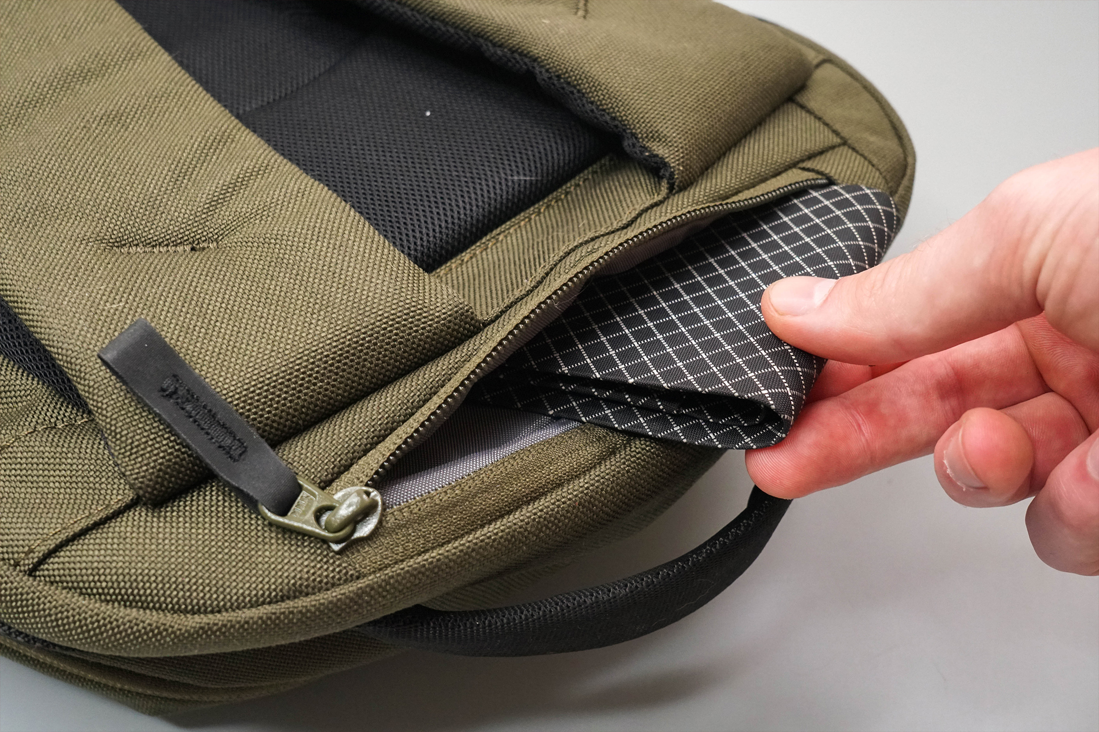 Able Carry Daily Backpack Hidden Pocket