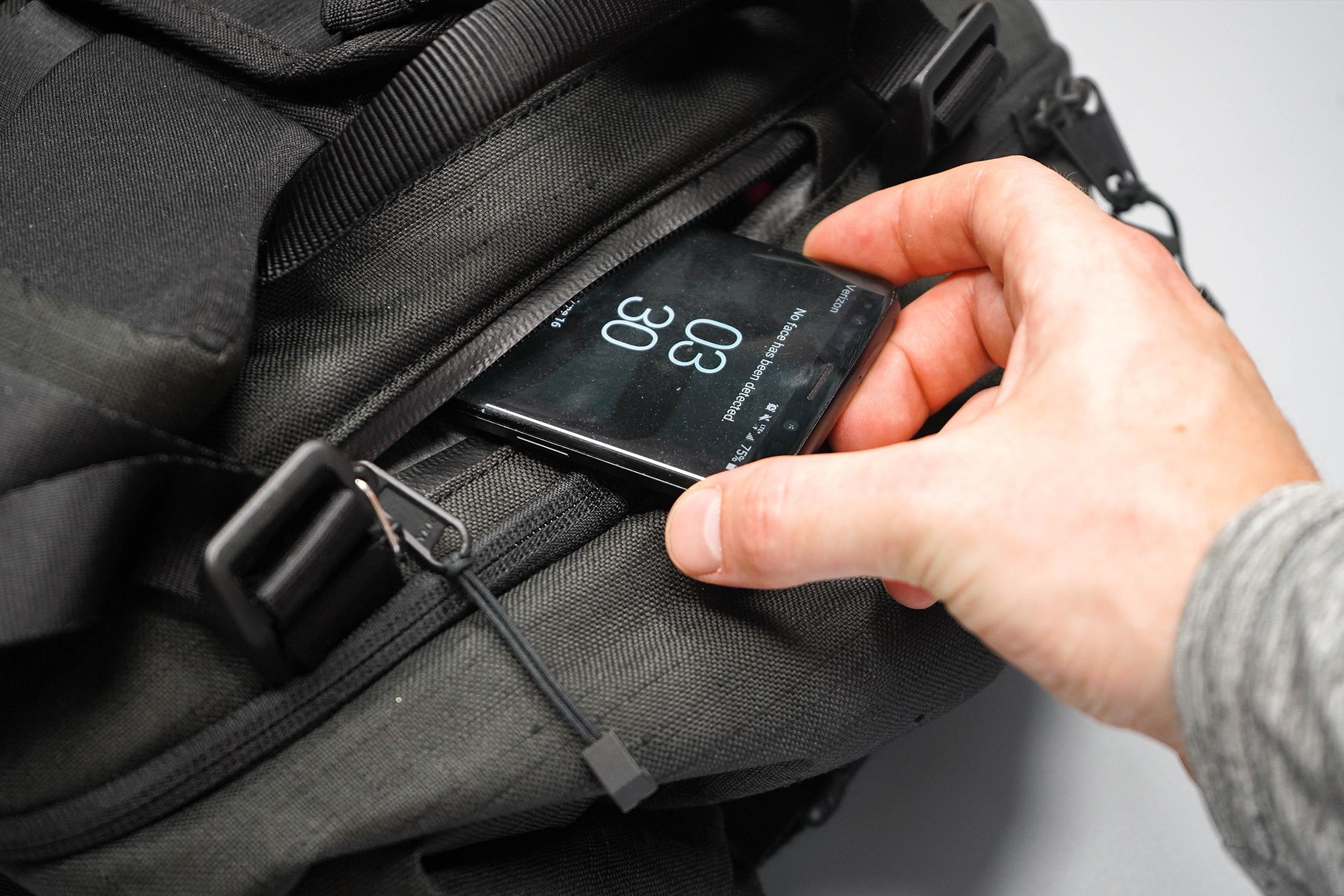 WAYKS ONE Cube Top Quick-Grab Pocket