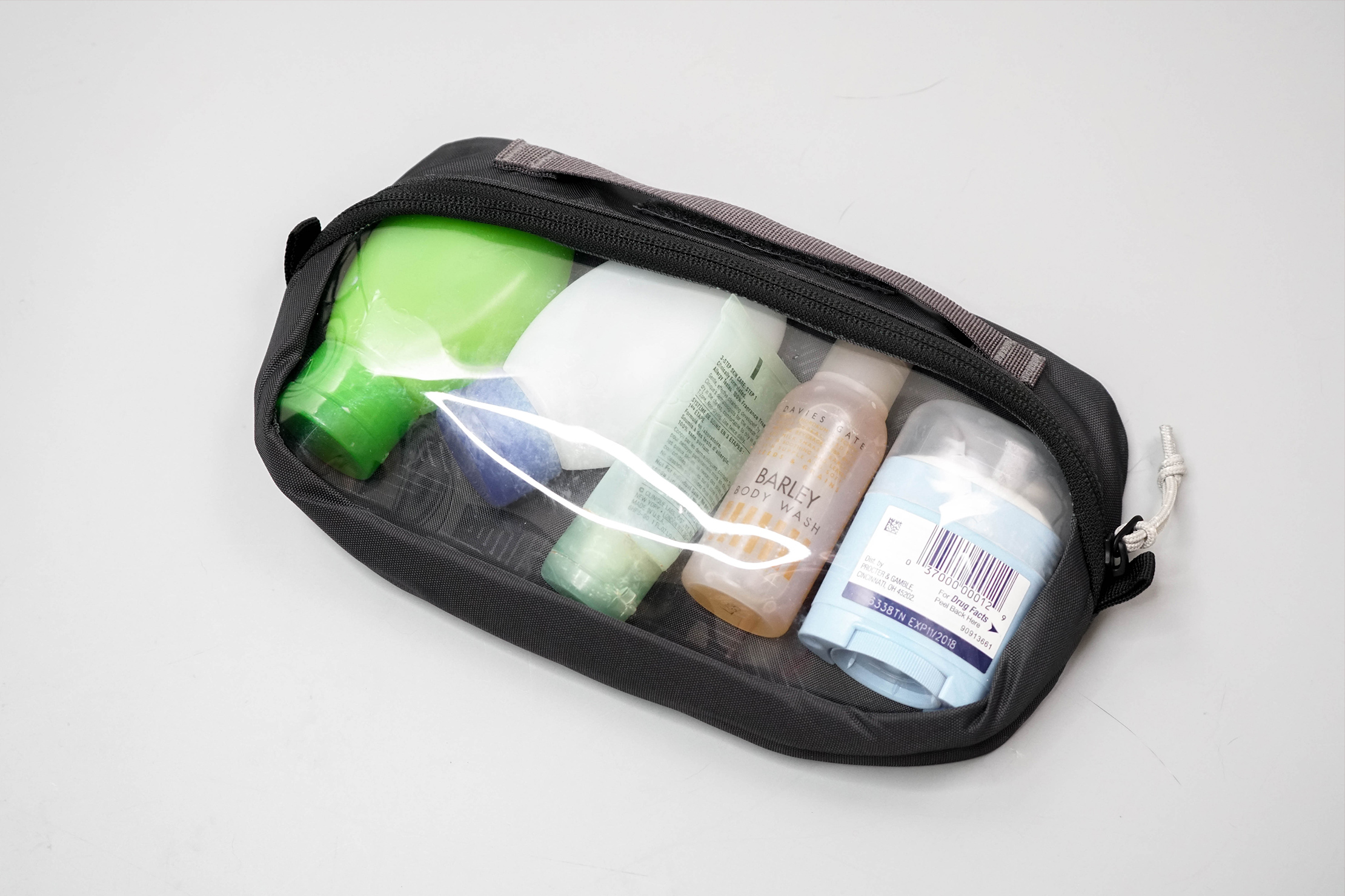 REI Shower Roll (Small) Clear Pocket Detached