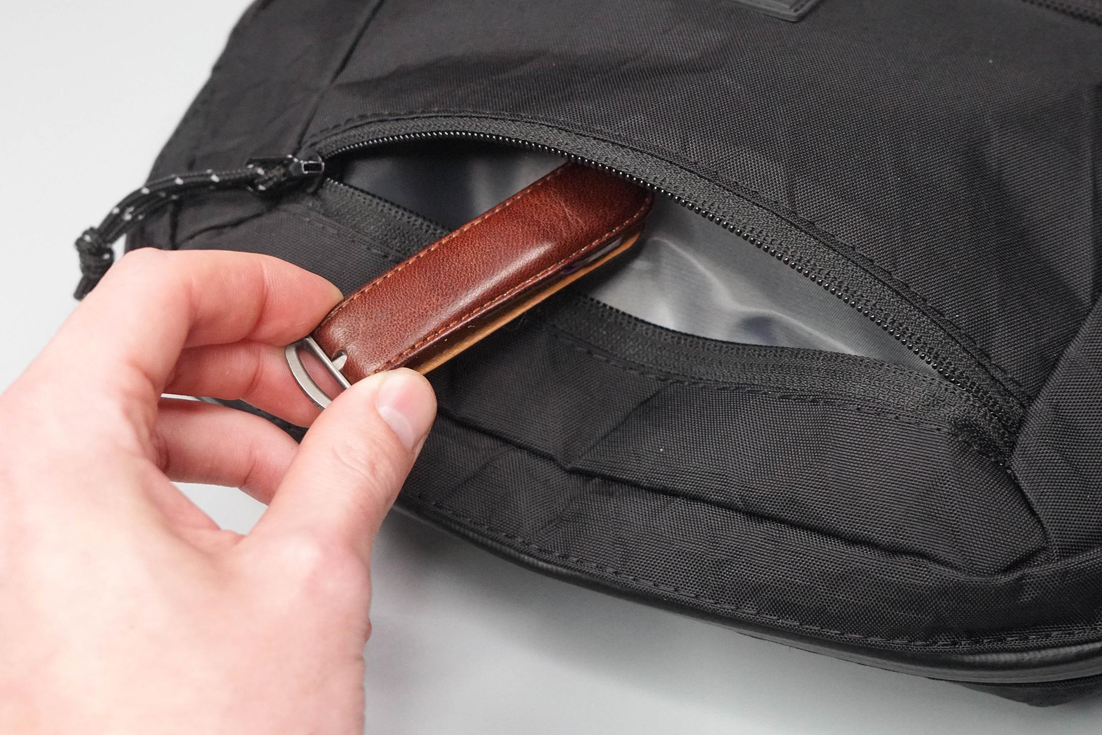 Chrome Industries Ziptop Waistpack Front Pocket