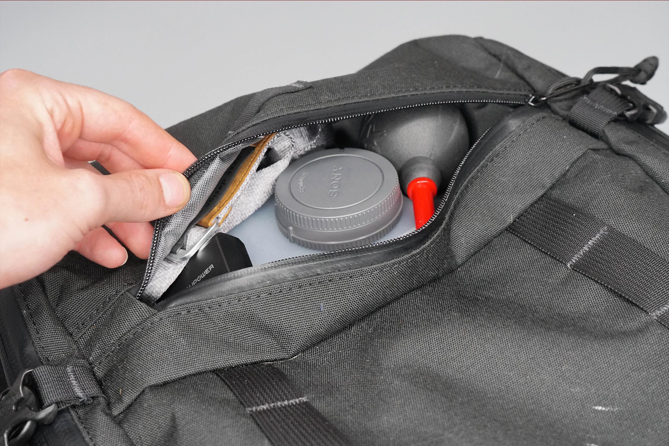North St. Bags Weekender Backpack Bottom Pocket
