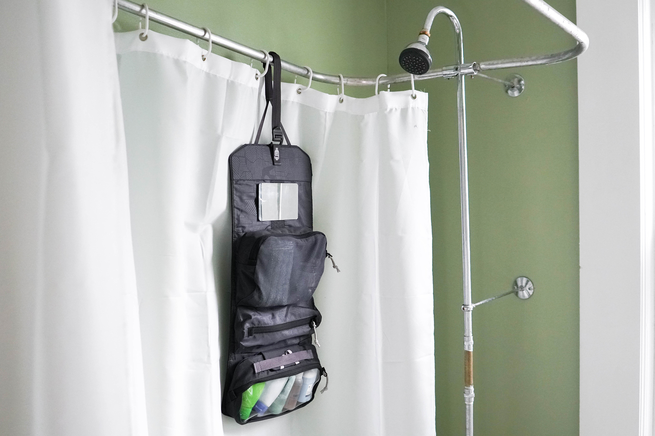 REI Shower Roll (Small) Hung Up